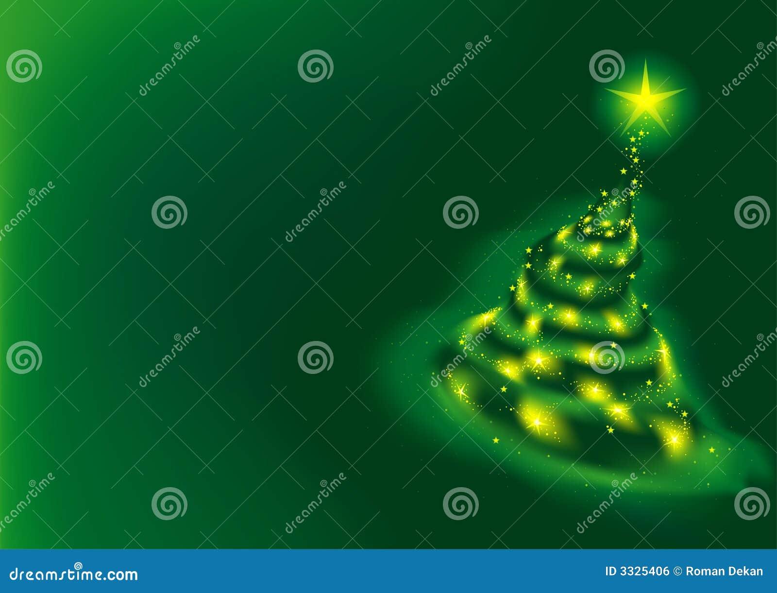 Árbol verde de Navidad
