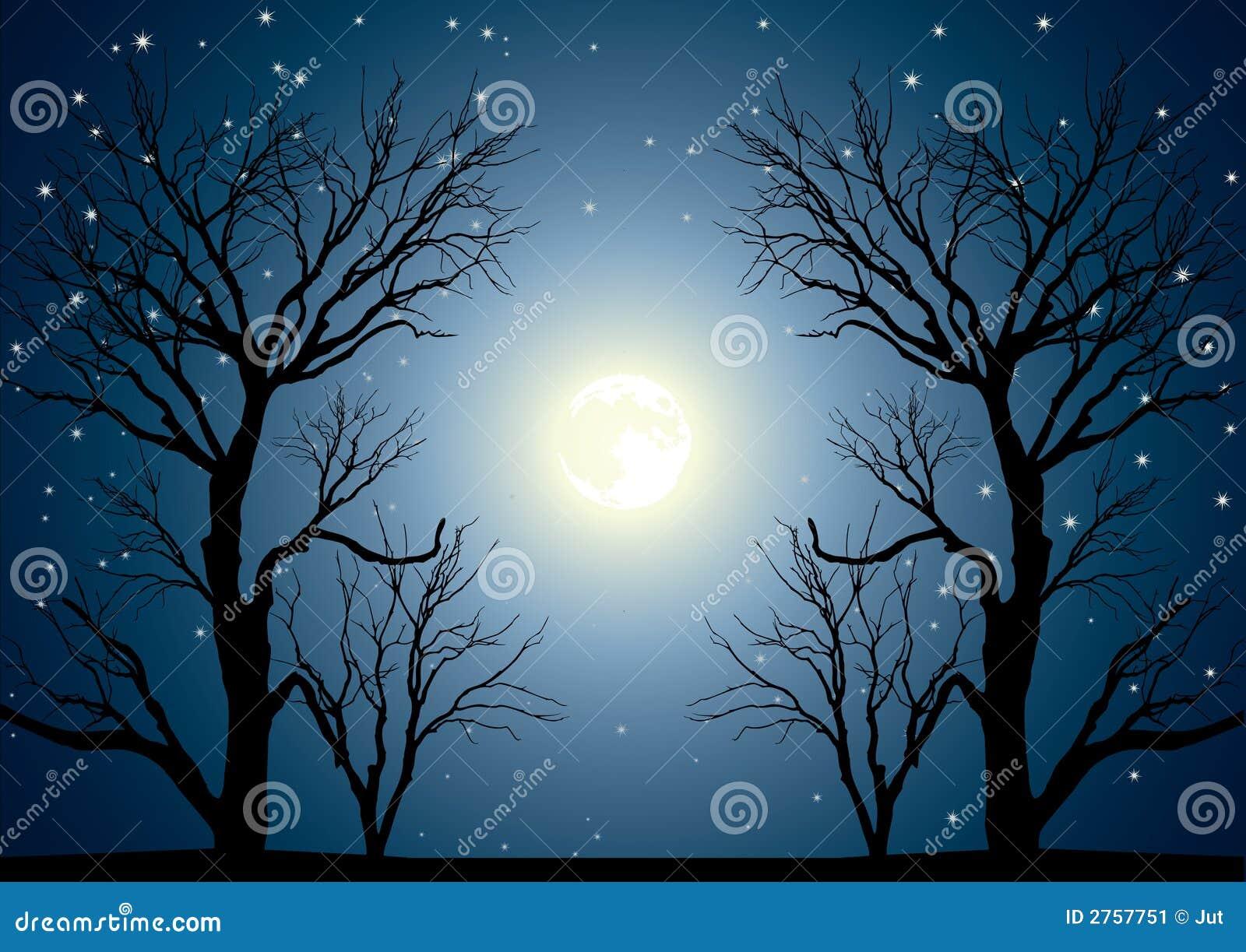 Árboles de la luna