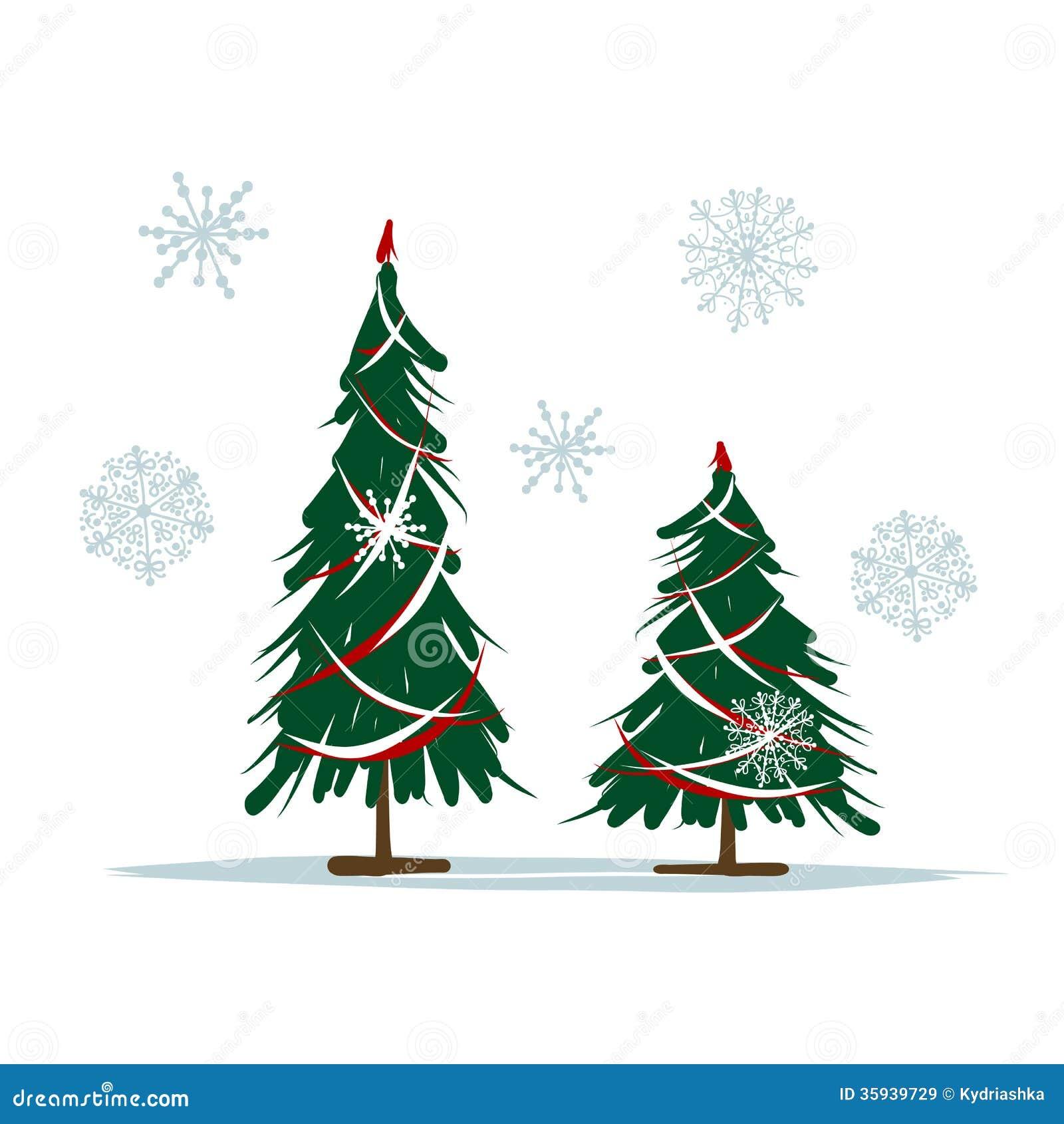 Rboles de navidad grandes y peque os para su dise o - Arbol de navidad diseno ...
