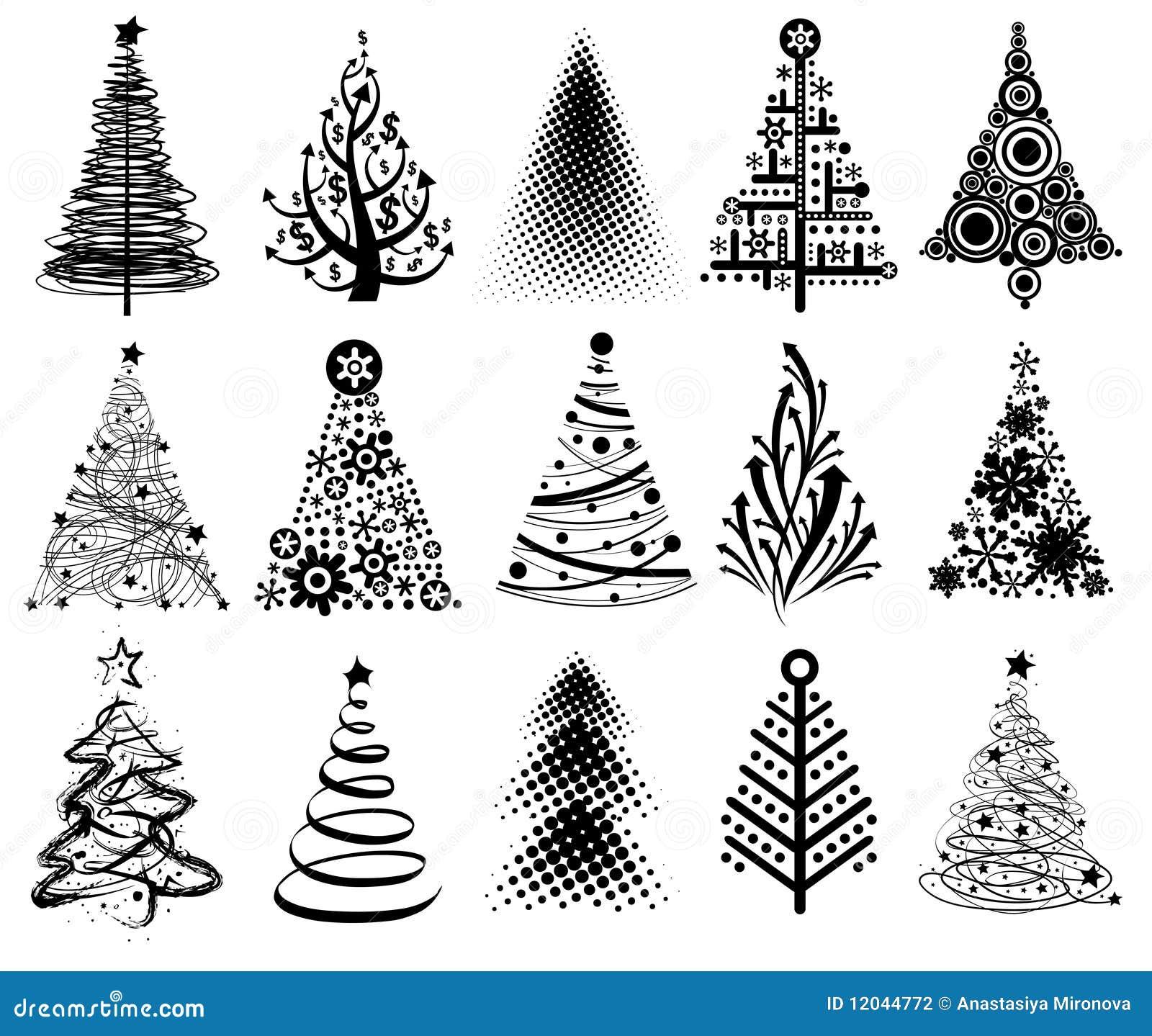 Rboles de navidad modernos - Arboles de navidad de diseno ...