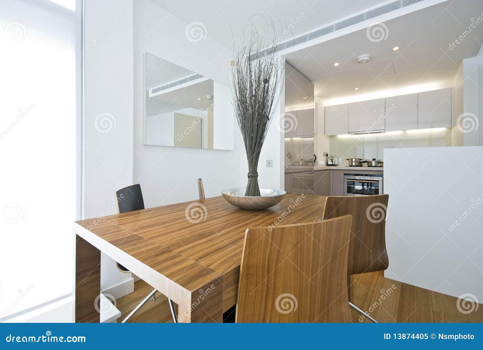 Área de cena moderna con el vector de madera