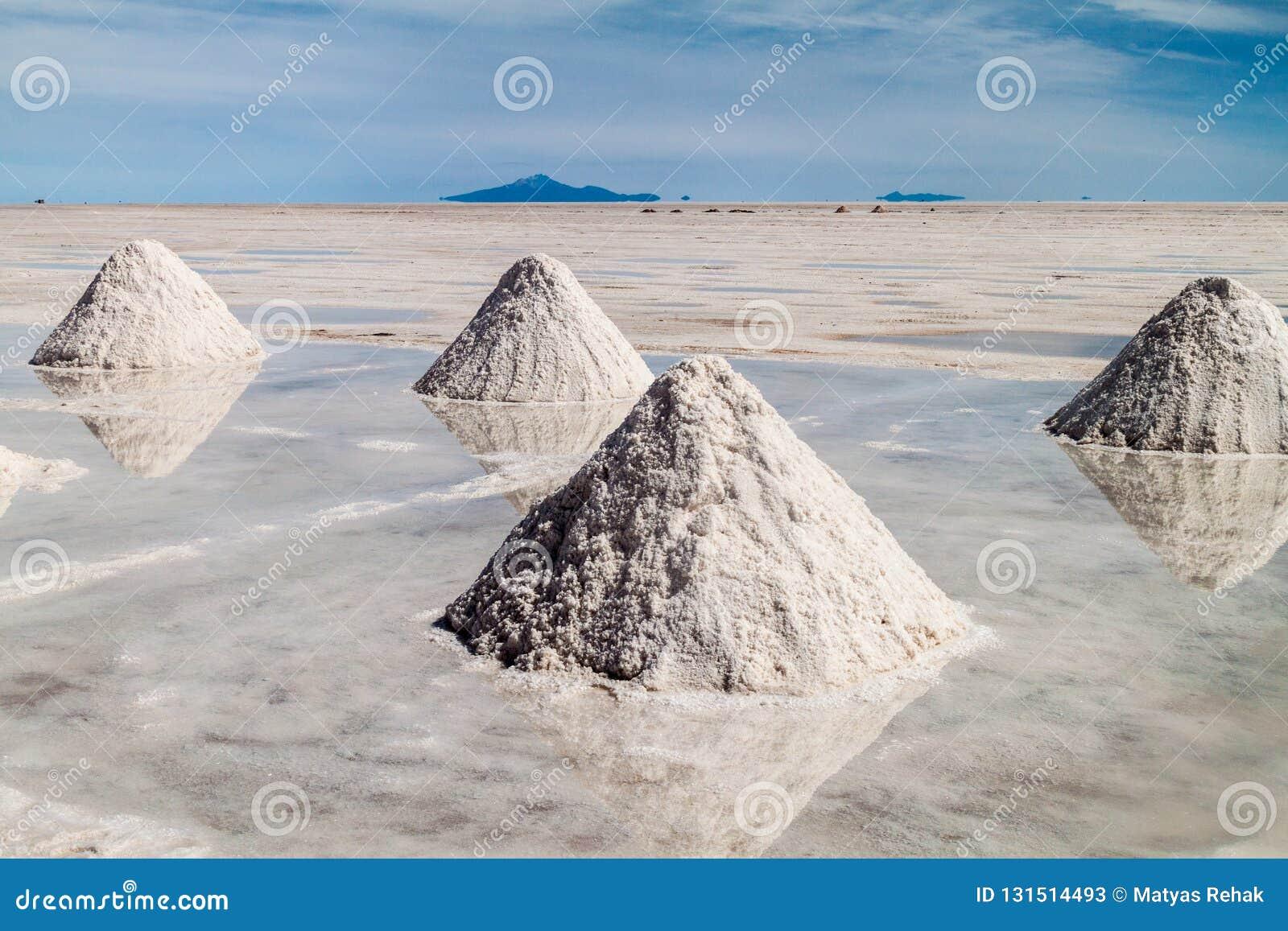 Área de la extracción de la sal