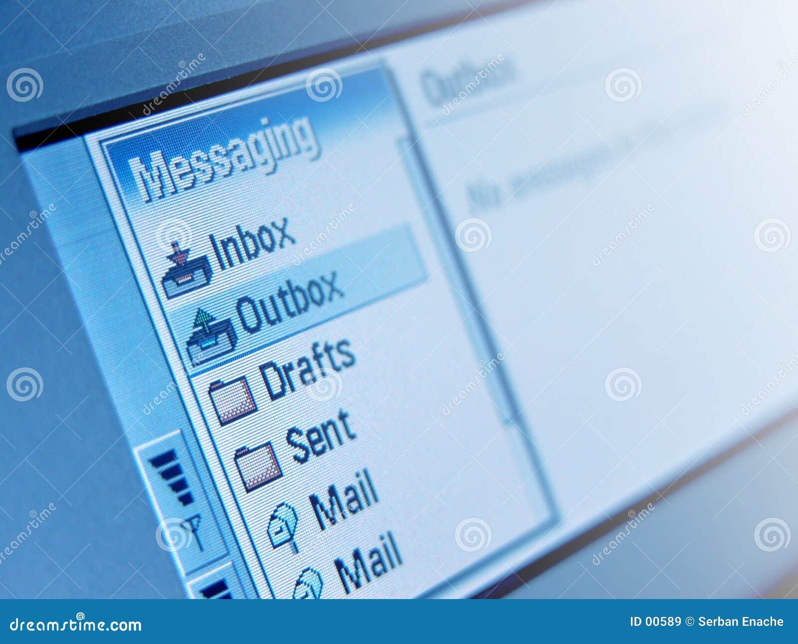 Área de la mensajería