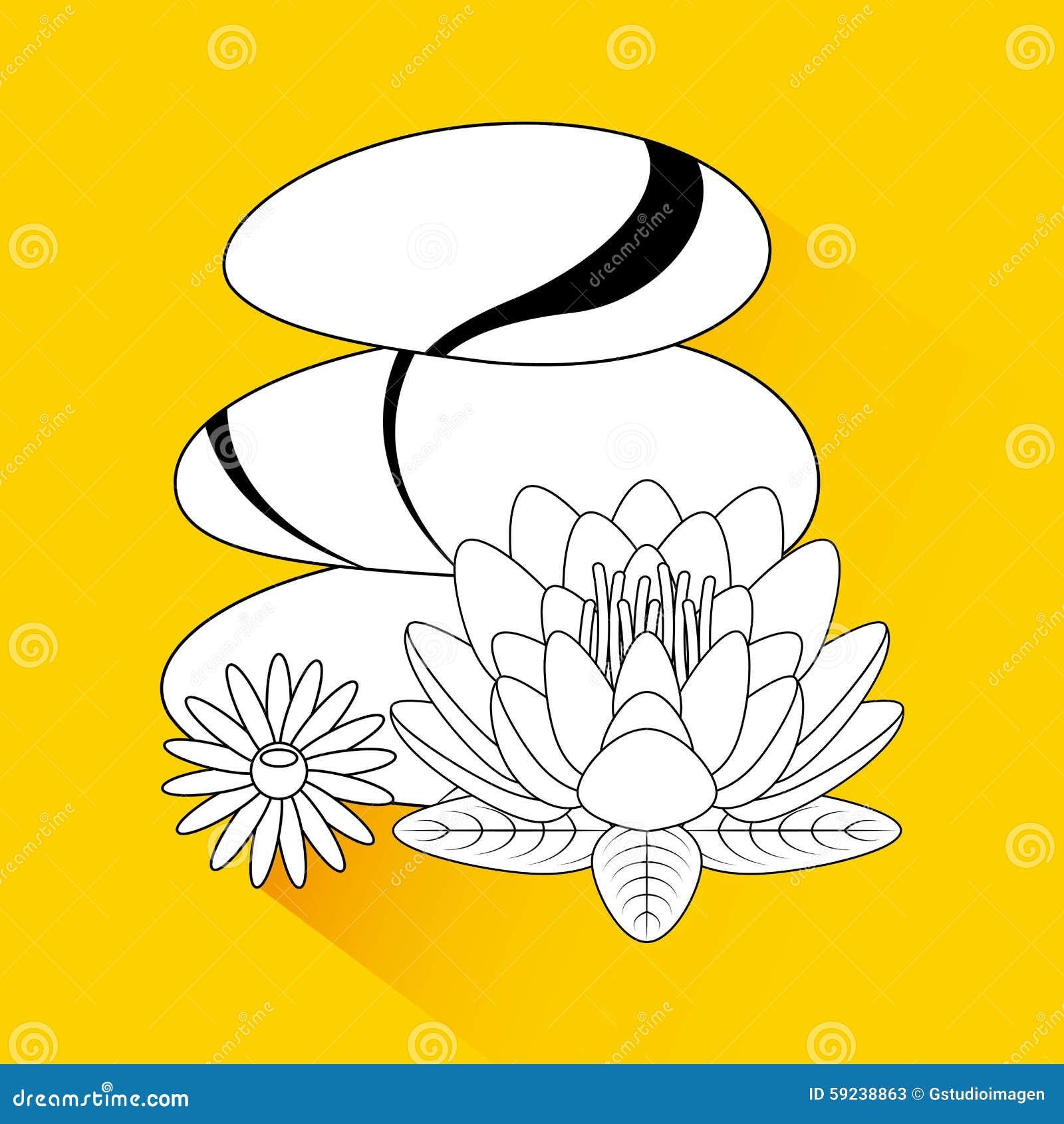 Download Área De La Relajación Del Balneario Ilustración del Vector - Ilustración de terapia, belleza: 59238863