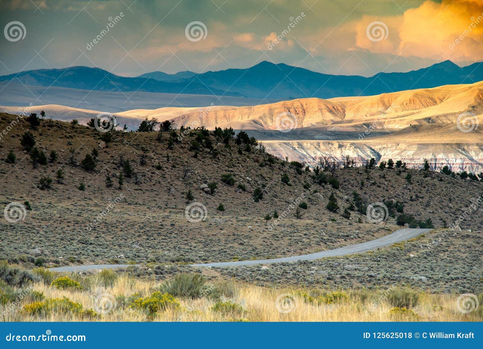Área de montanha espetacular do uísque