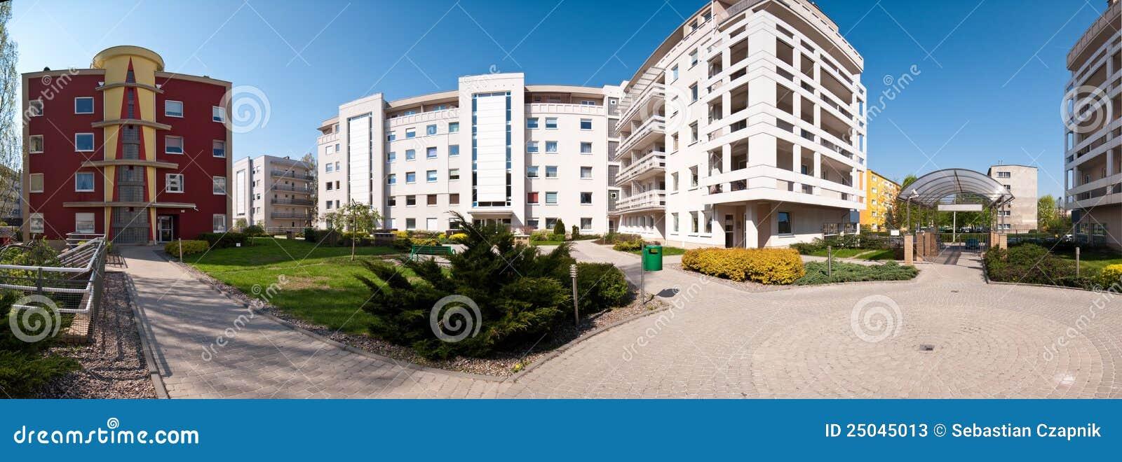 Área residencial moderna