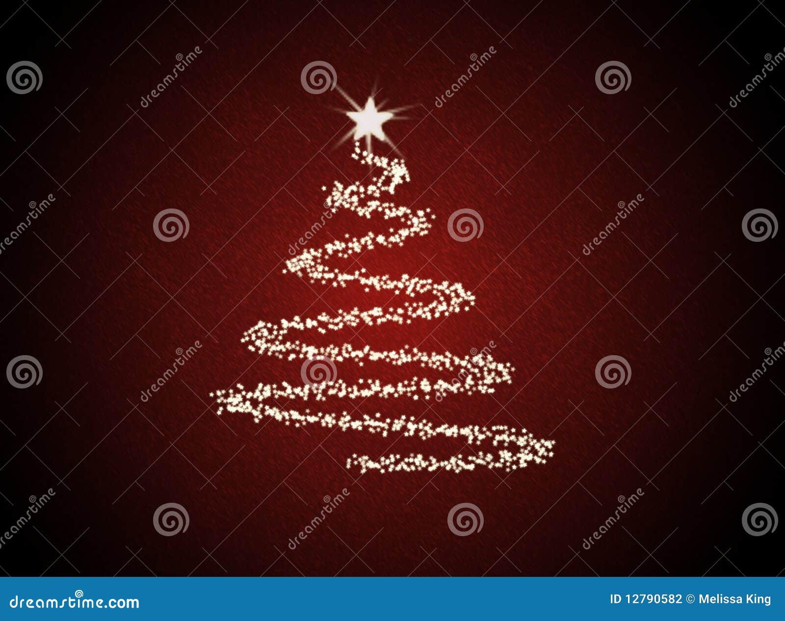 Árvore abstrata de Christmast