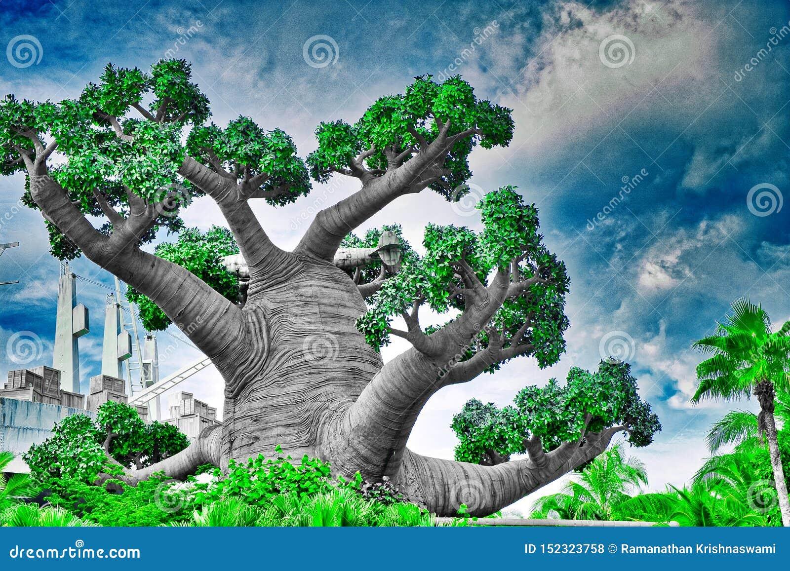 Árvore abstrata singapore
