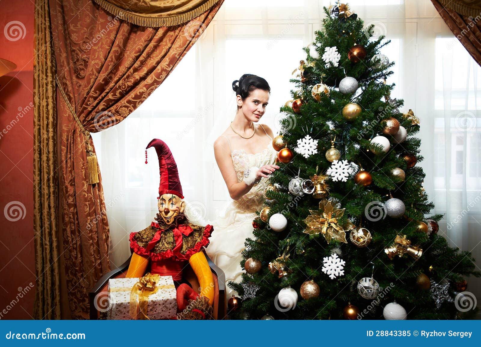 Árvore de Natal bridenear bonita