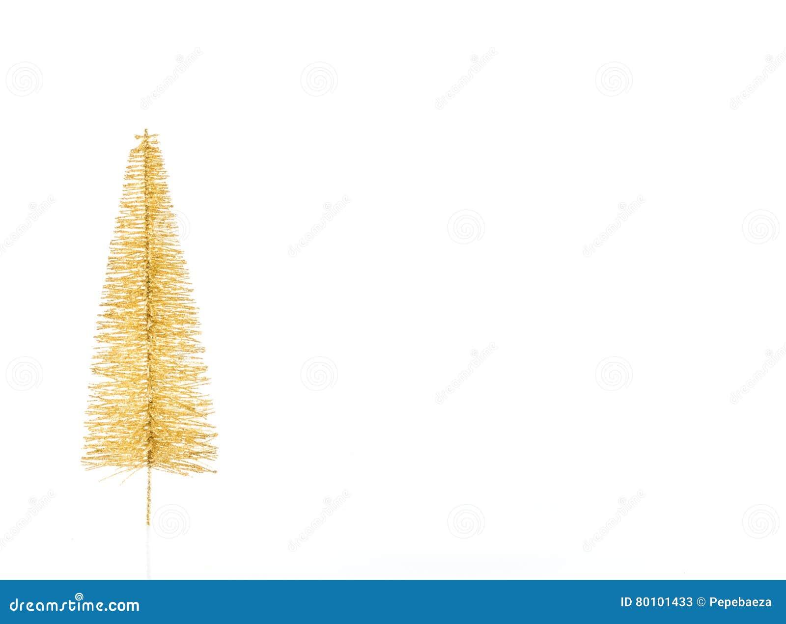 Árvore de Natal dourada