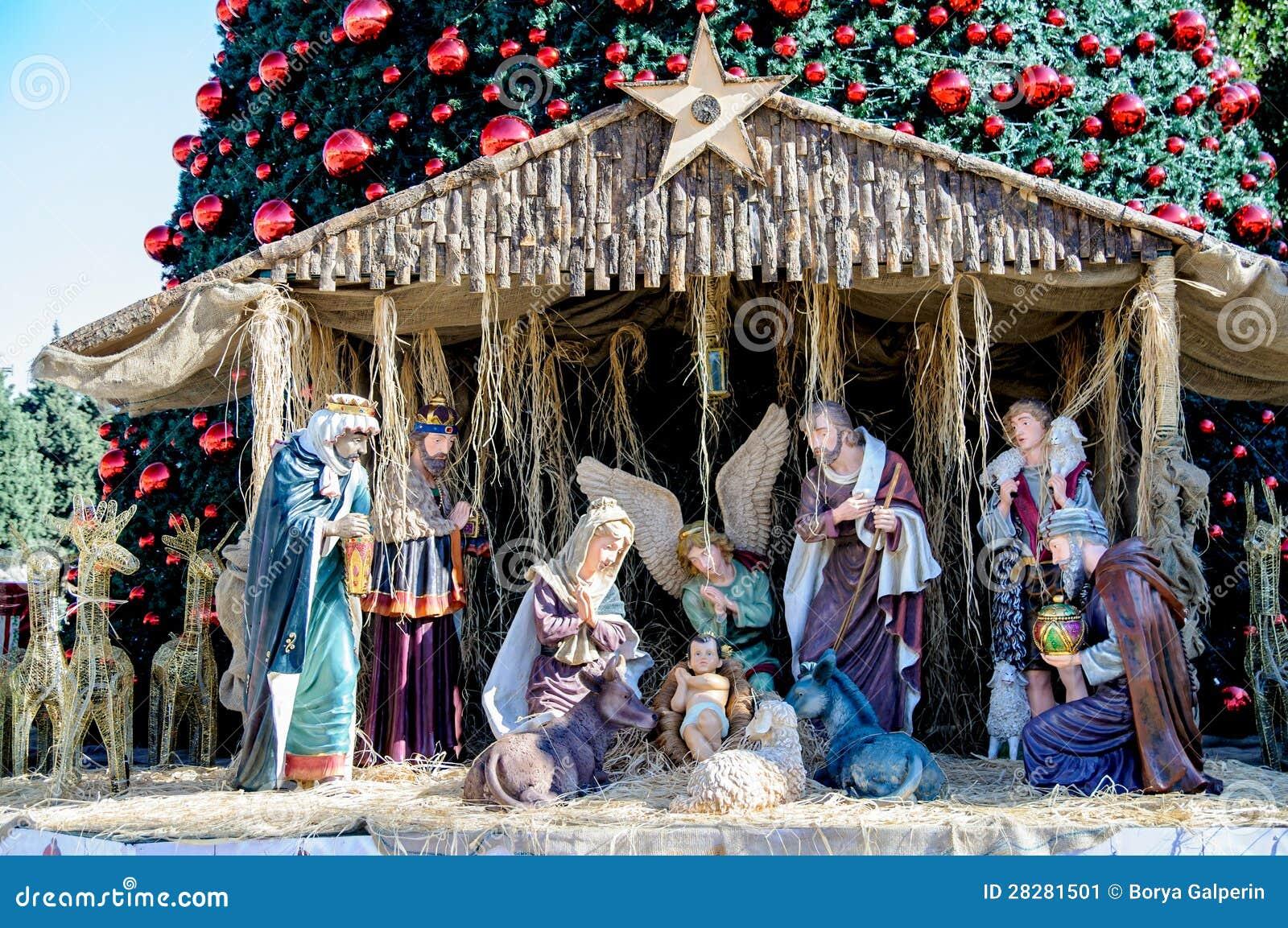 Árvore de Natal em Bethlehem, Palestina