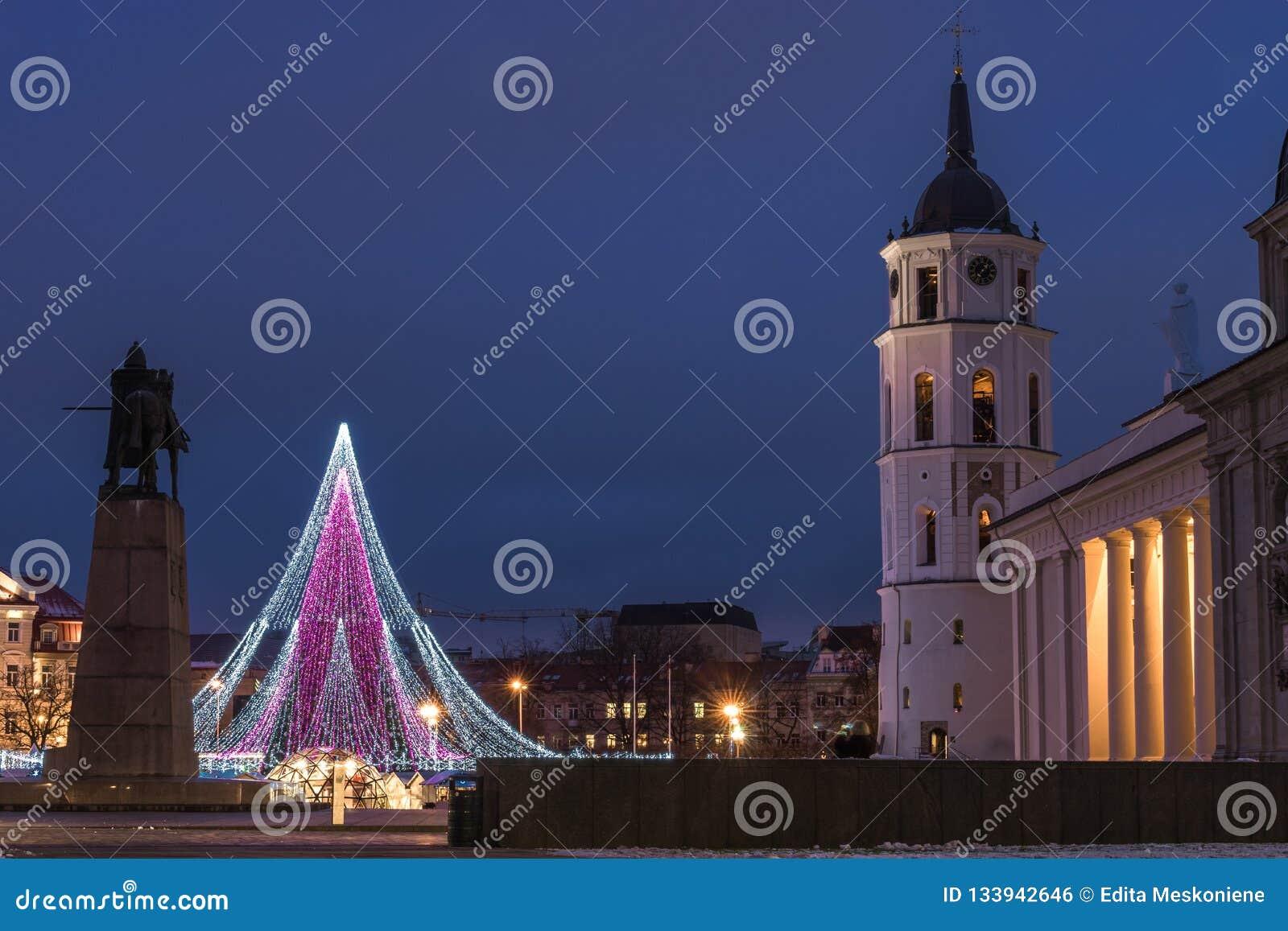 Árvore de Natal em Vilnius