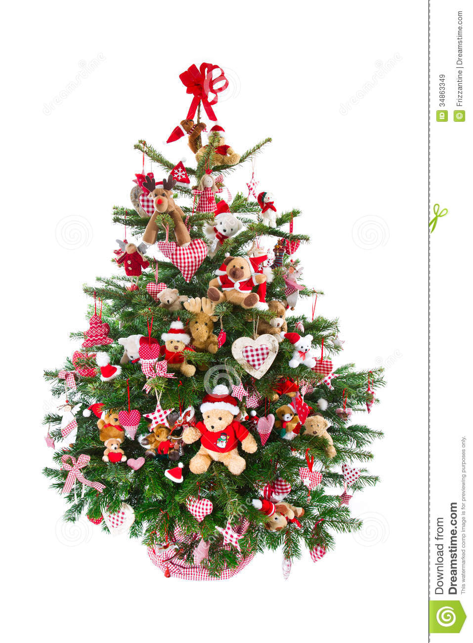 decoracao arvore de natal vermelha:Red and Green Decorated Christmas Trees