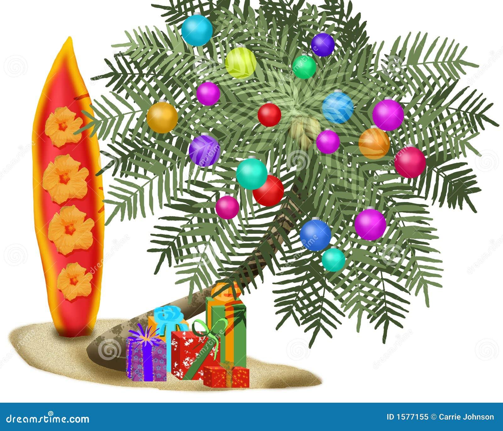 Árvore de Natal tropical