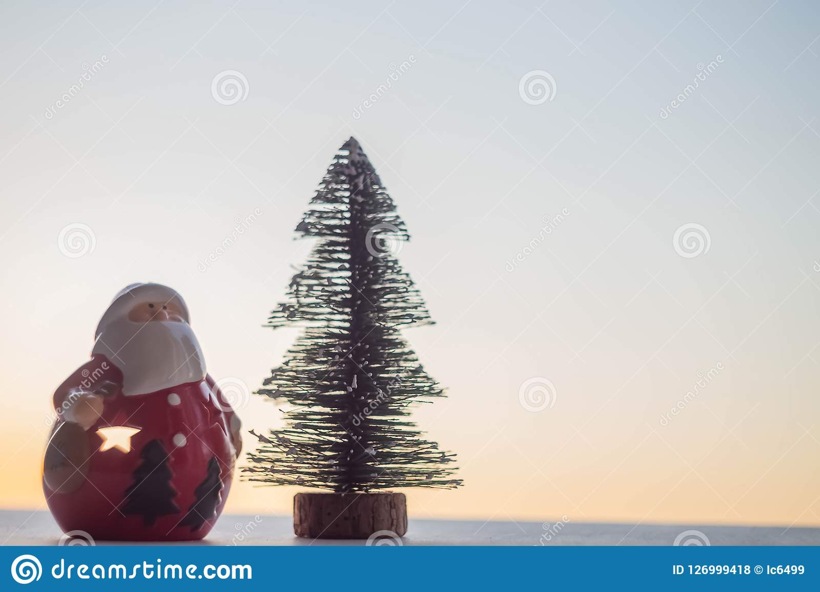 Árvore de Papai Noel e de Natal