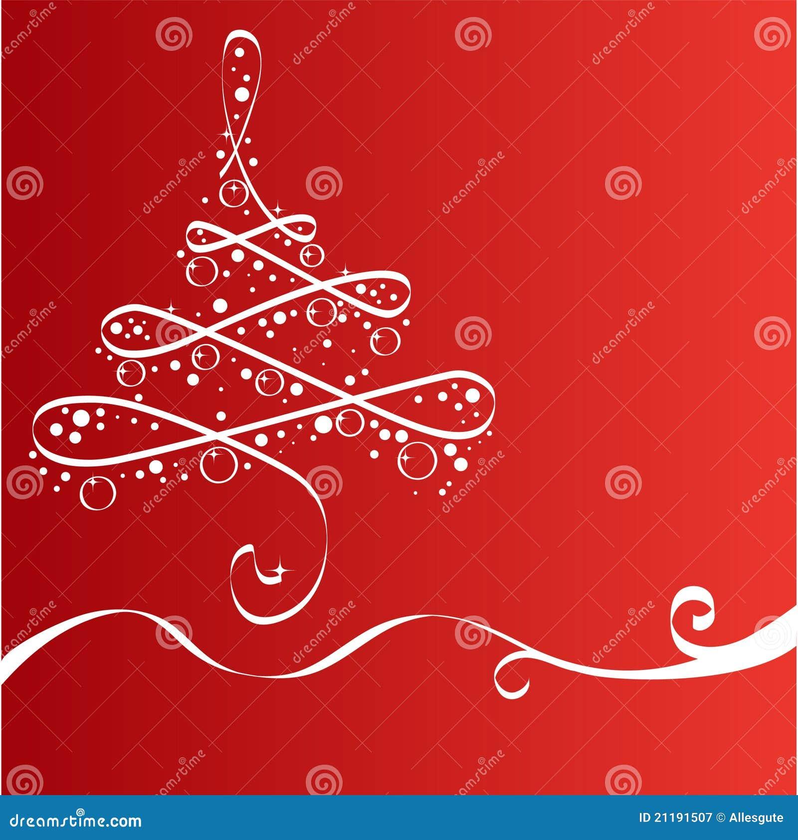 Árvore do Xmas, cartão