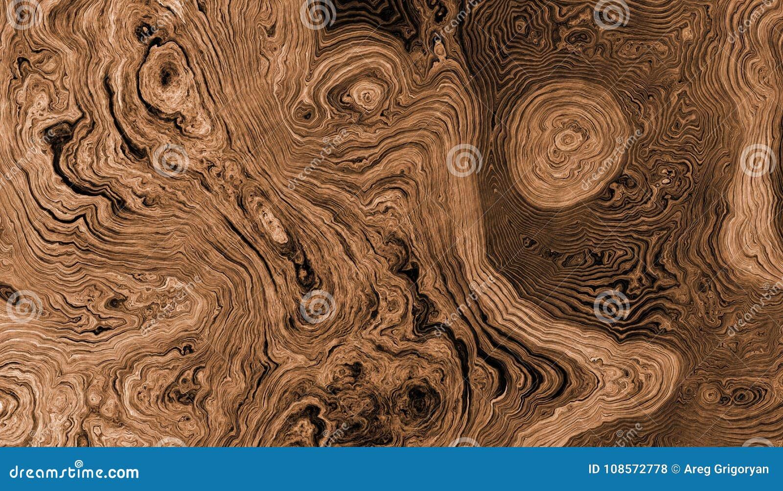A árvore enraíza o fundo encaracolado
