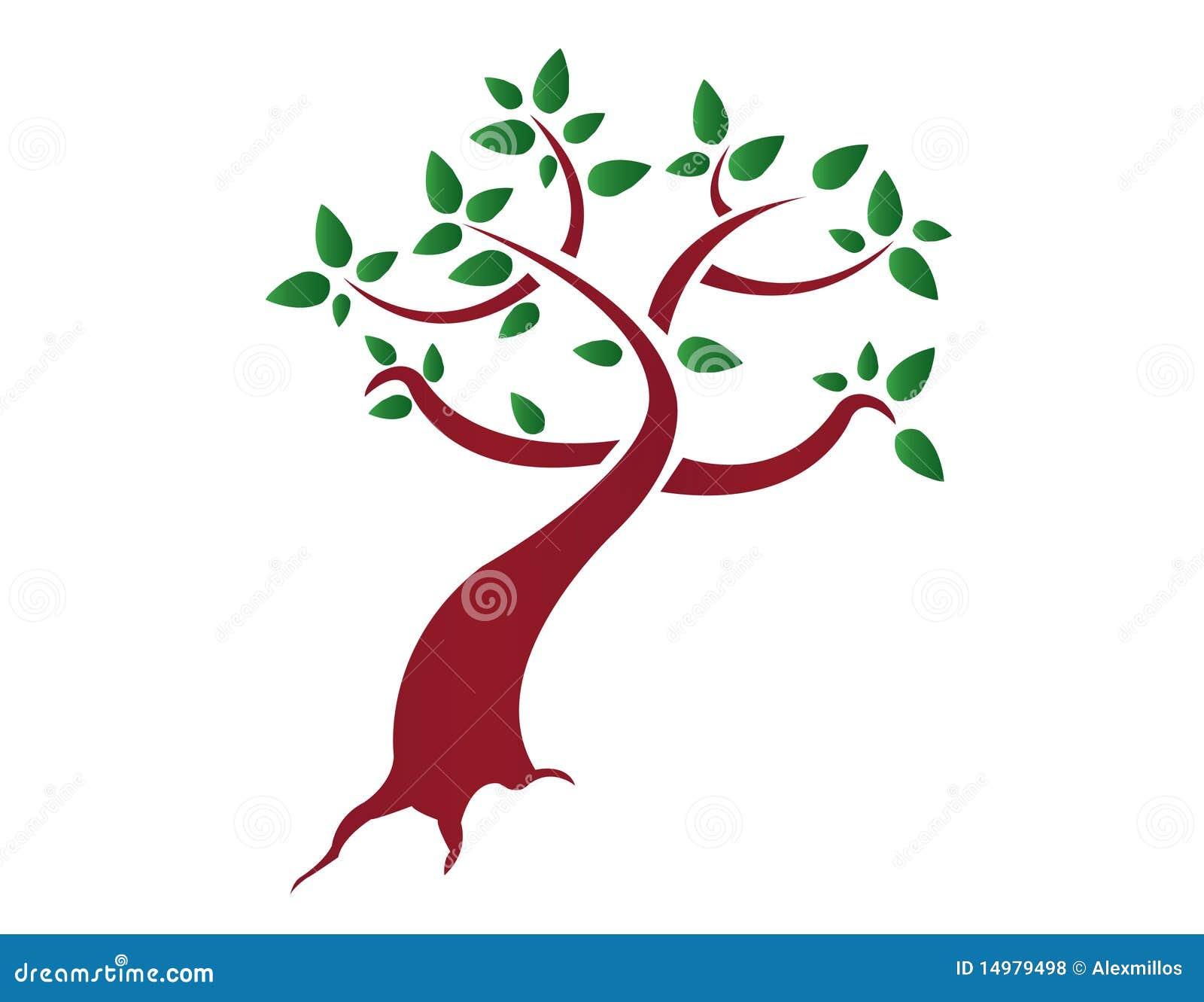 Árvore estilizado