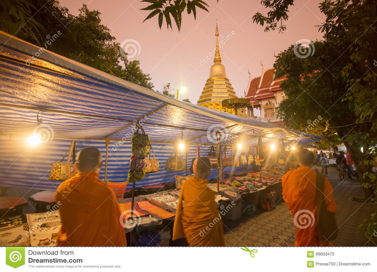 ÁSIA TAILÂNDIA CHIANG MAI NIGHTMARKET