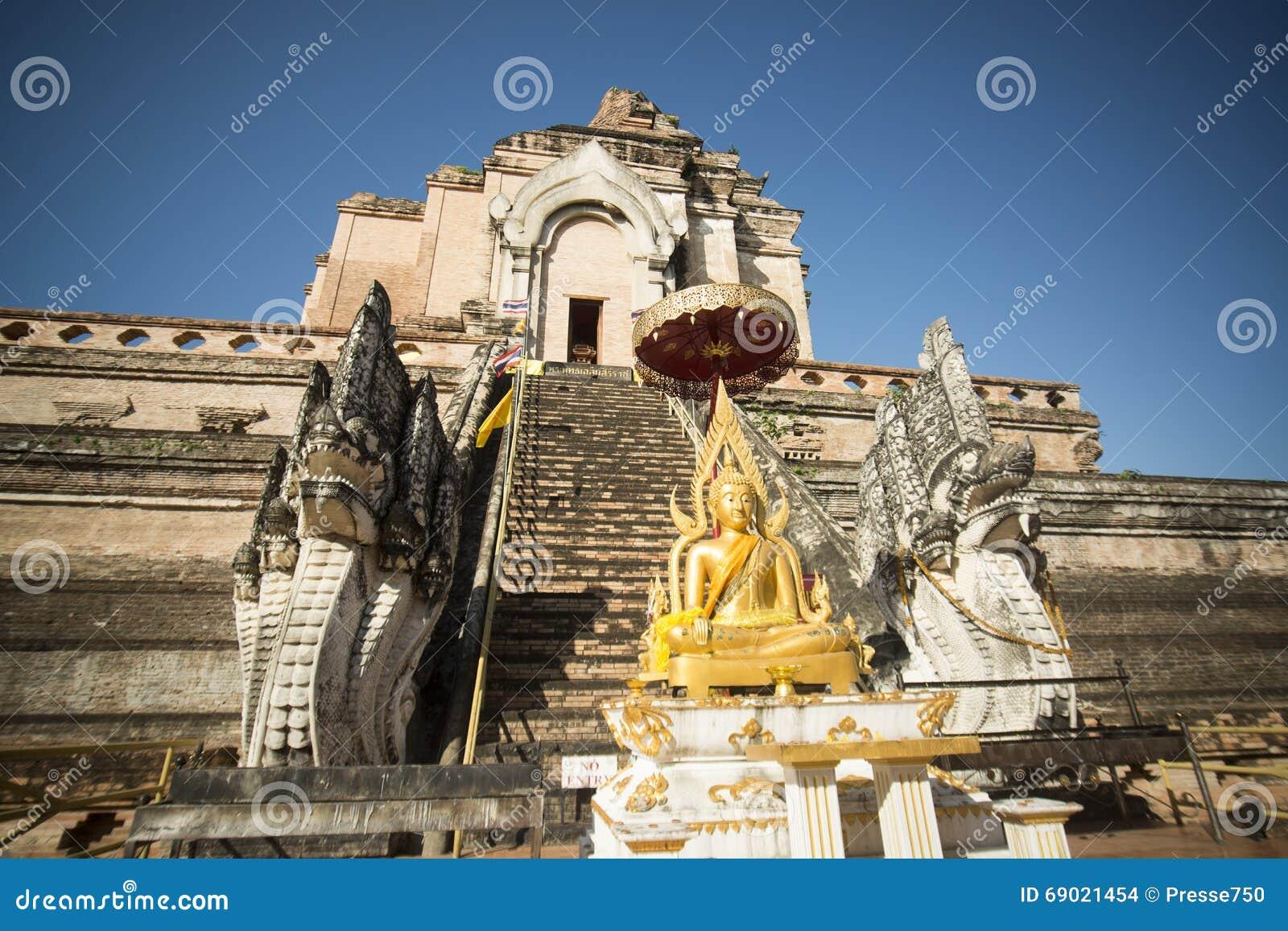 ÁSIA TAILÂNDIA CHIANG WAT CHEDI LUANG