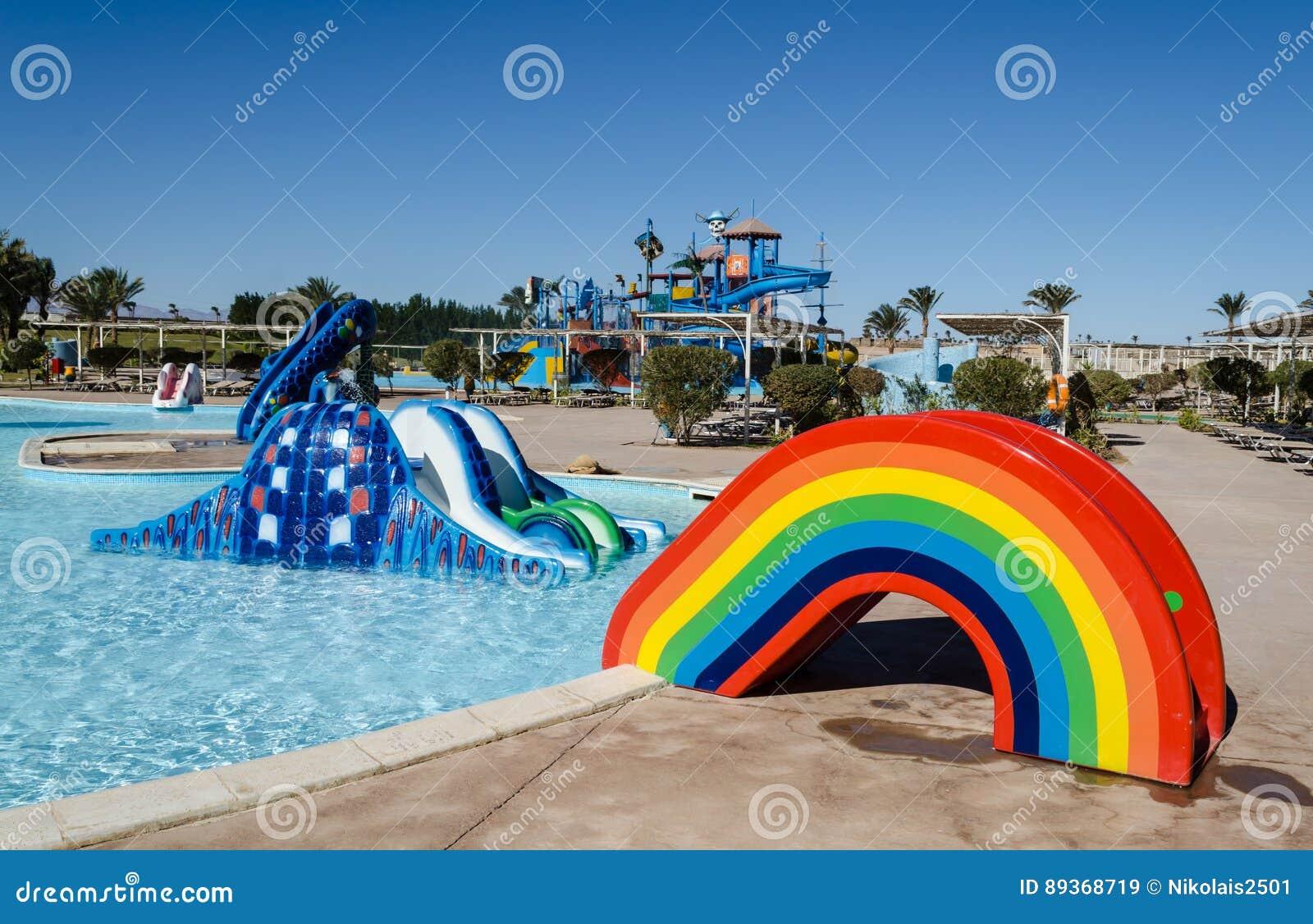 € de RMadinat Makadi «en janvier 2016 : Parc aquatique, haute plaine de l eau de Makadi,