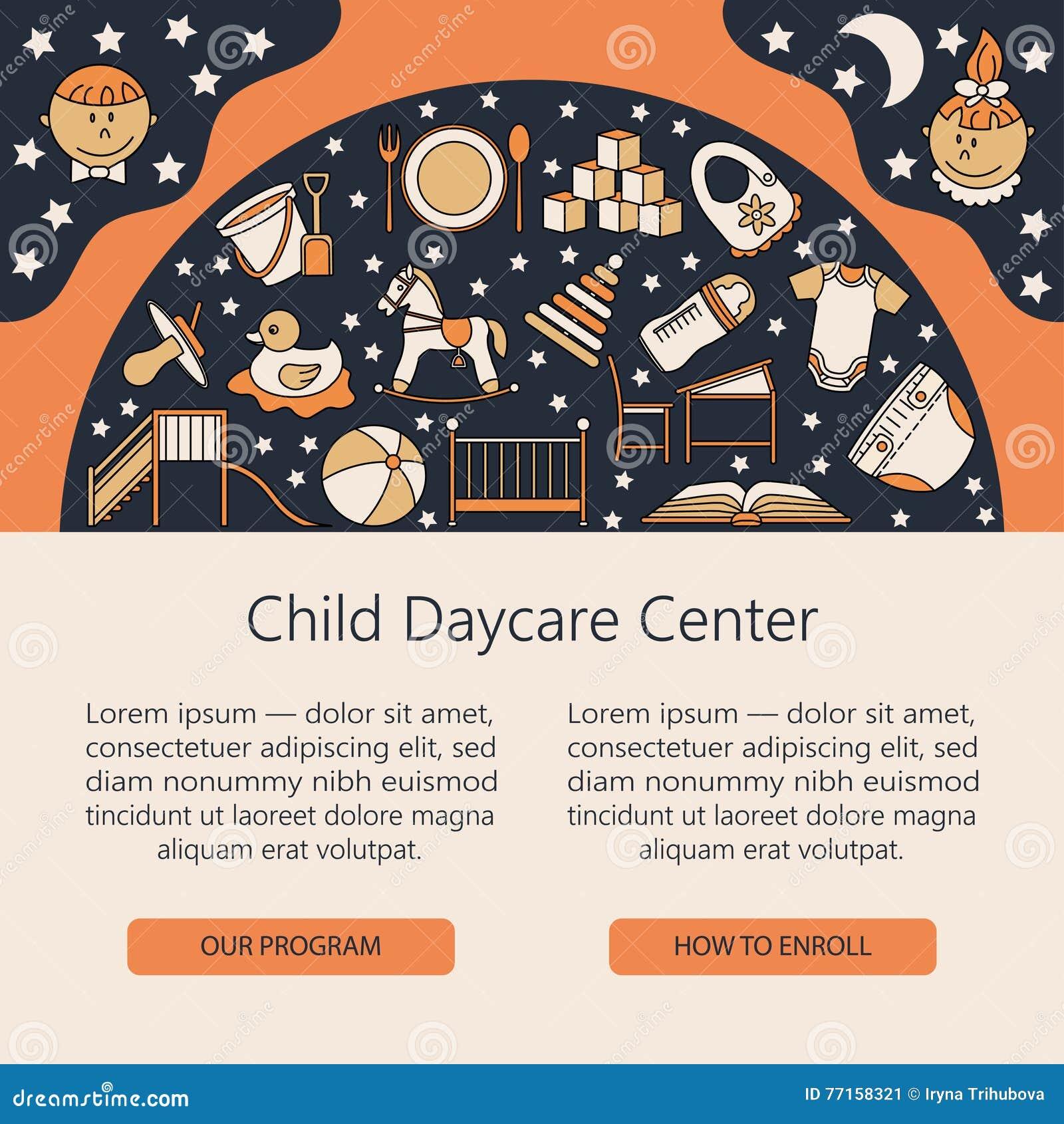 Âme centrale de soin d enfant et de bébé ou calibre de carte