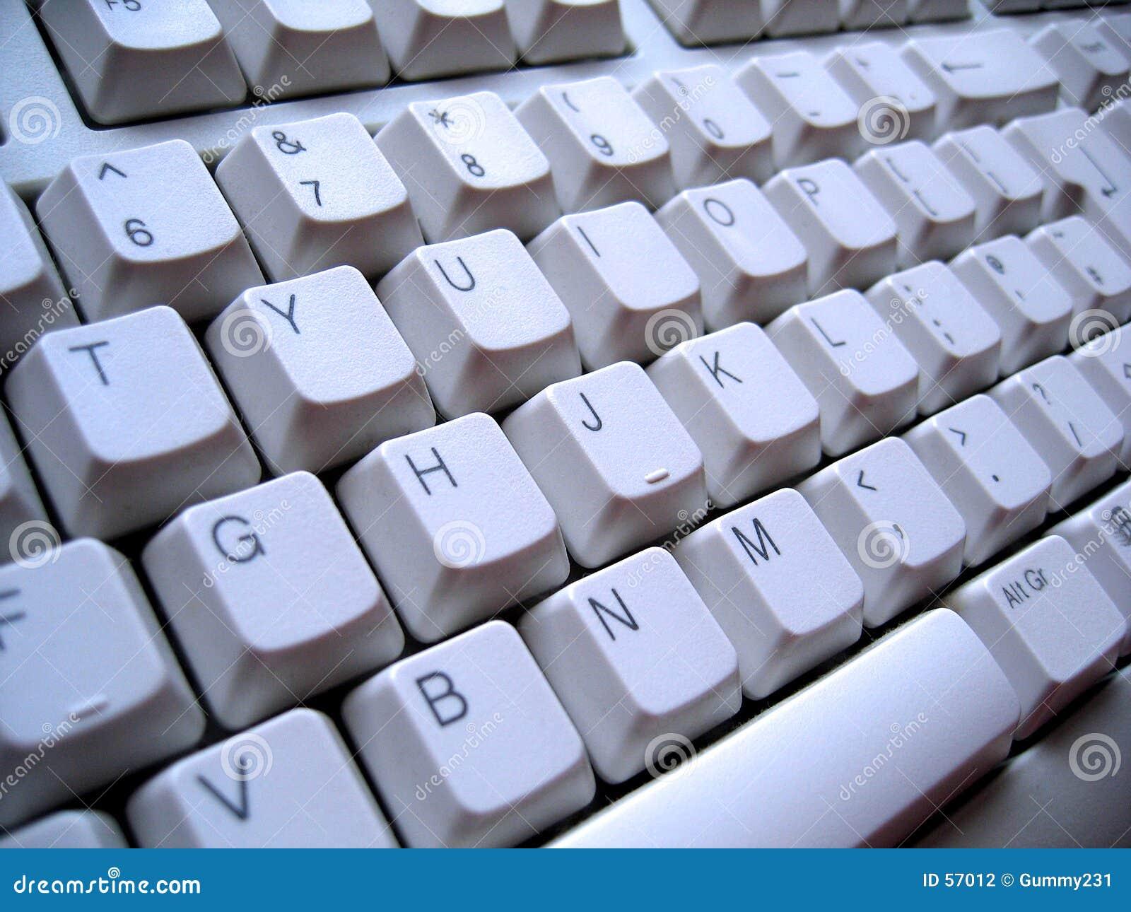 Ângulo do teclado