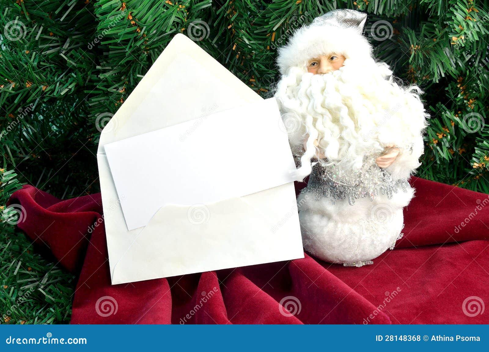 Ânote рождественской открытки с Сантой