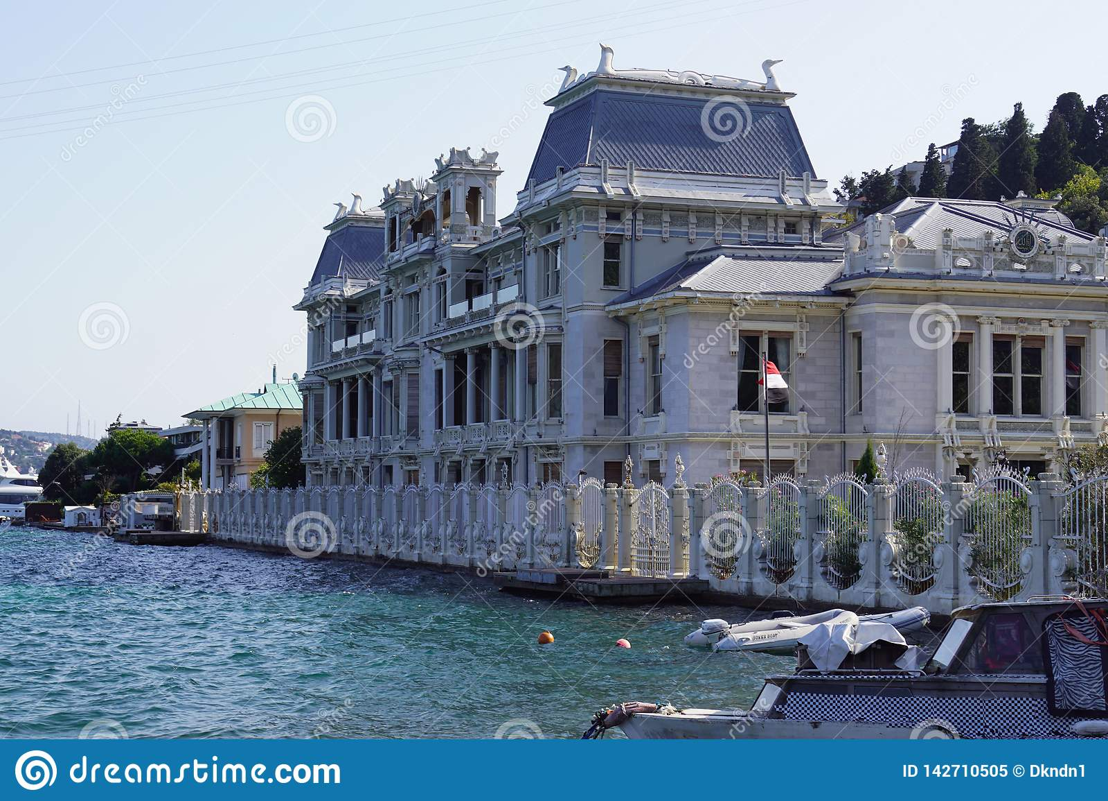Ä°stanbul, Marmara/Τουρκία 10 03 2019: Προξενείο της Αιγύπτου