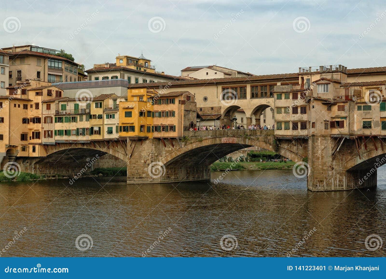 佛罗伦萨意大利ponte vecchio