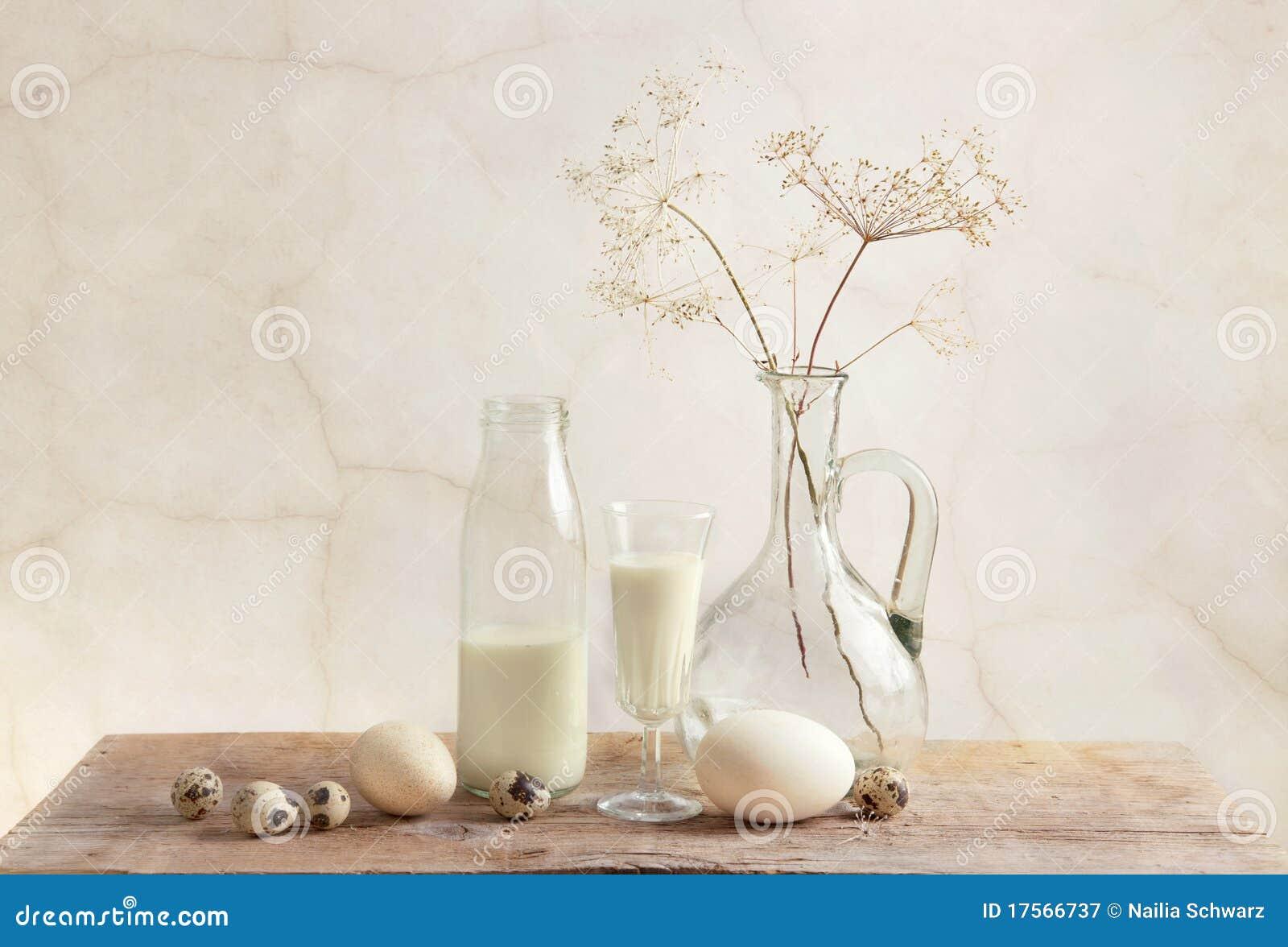 ägg mjölkar