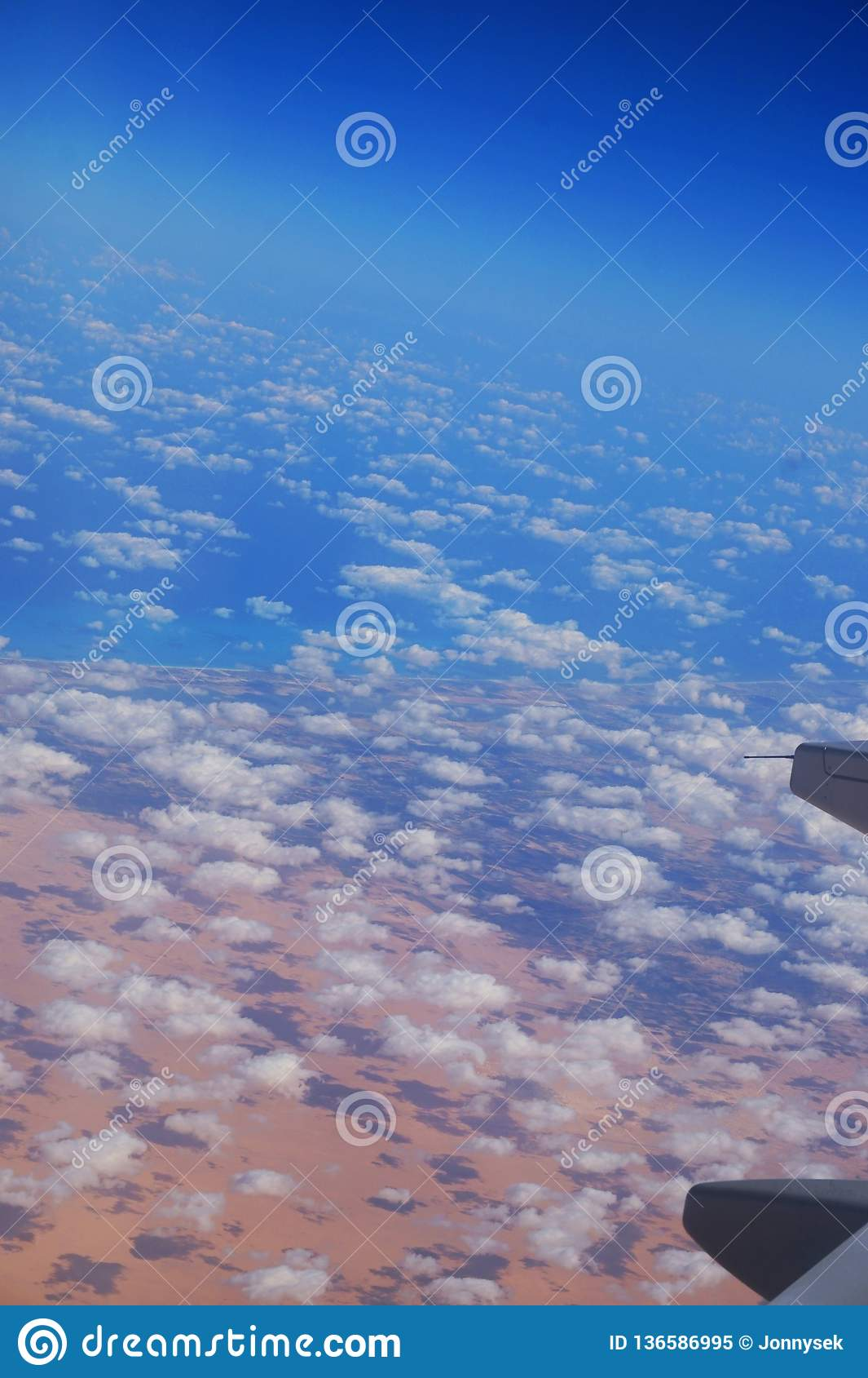 Ägypten vom Flugzeug