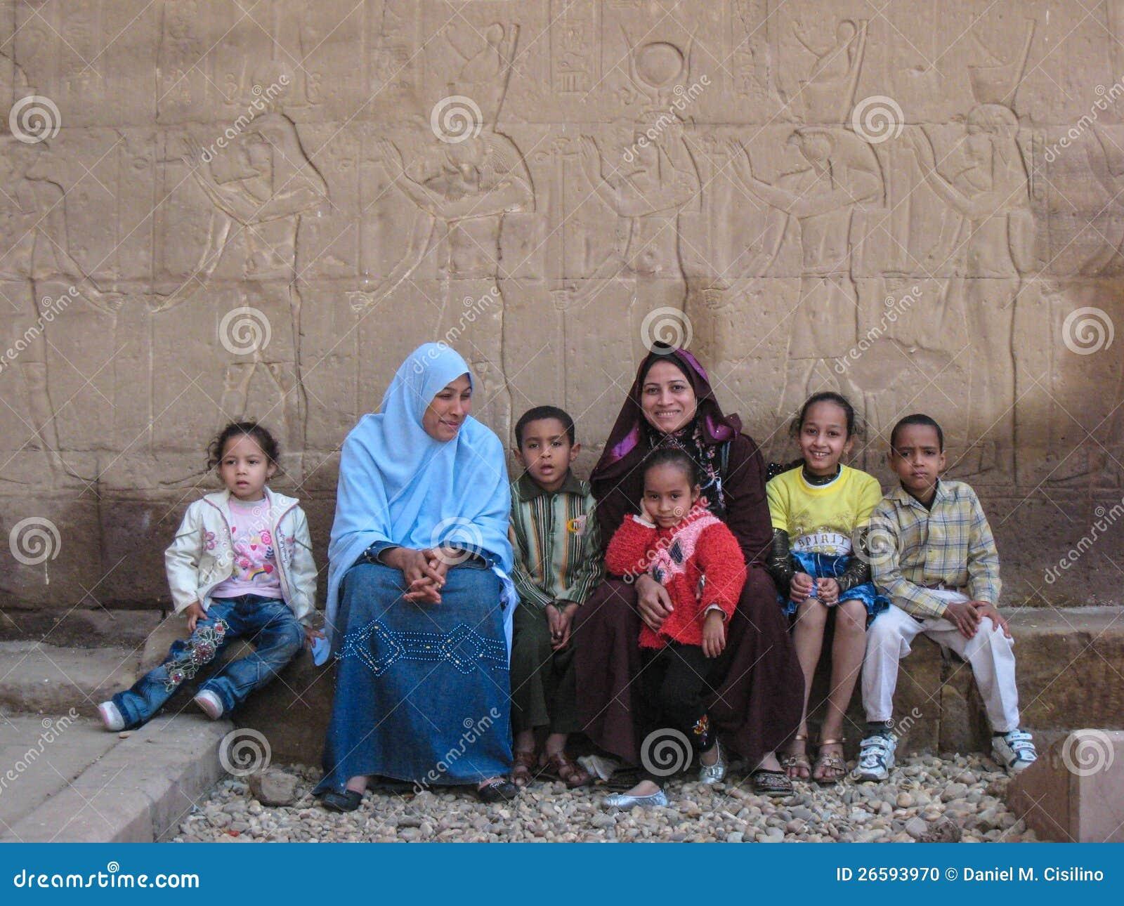 Ägyptische Familie