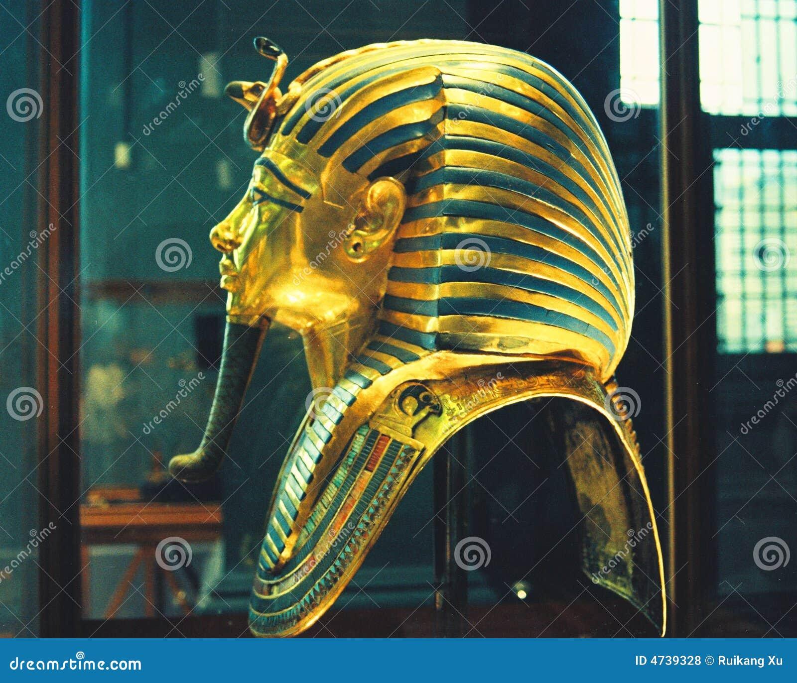 Ägyptische Museums-Goldschablone