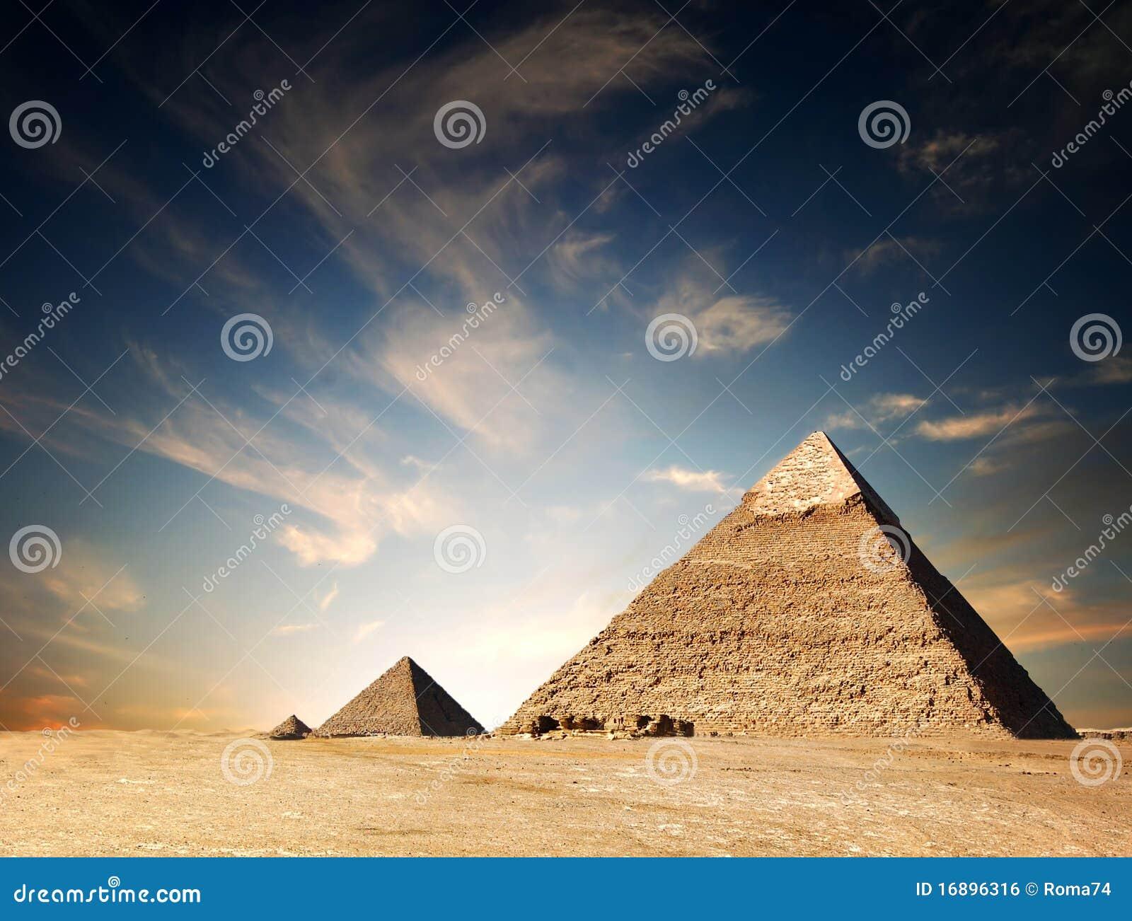 Ägyptische Pyramide