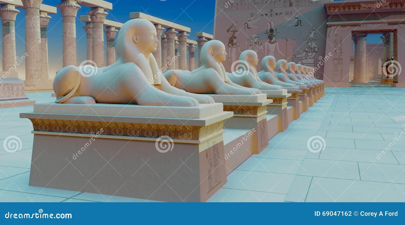 Ägyptische Sphinx