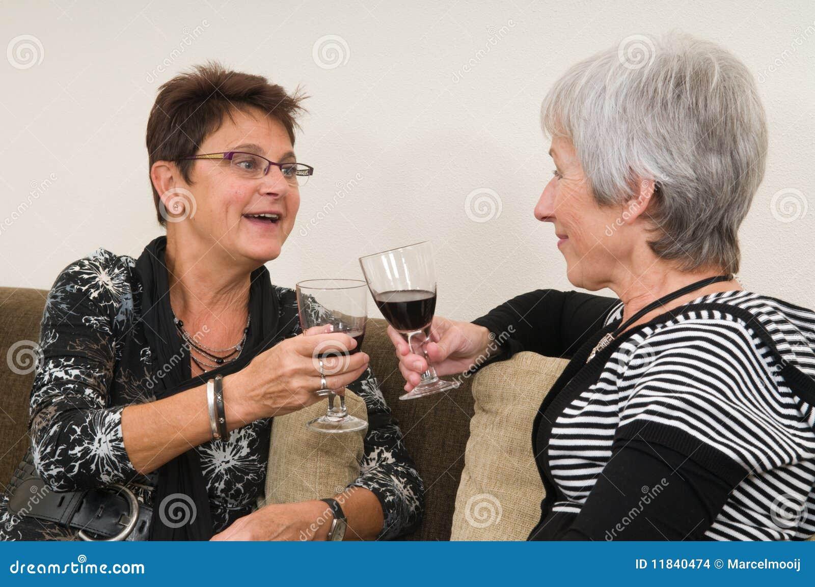 Ältere Freundinnen