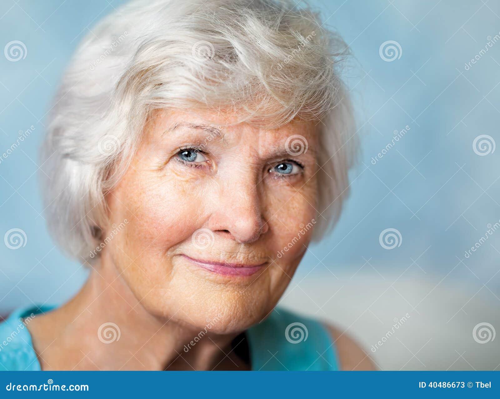 Älteres Frauenporträt