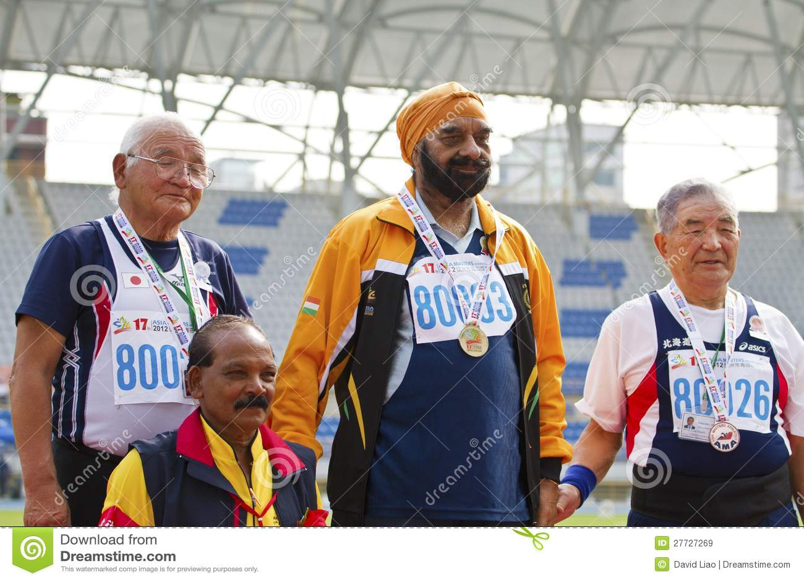 Älteres Leichtathletikspiel