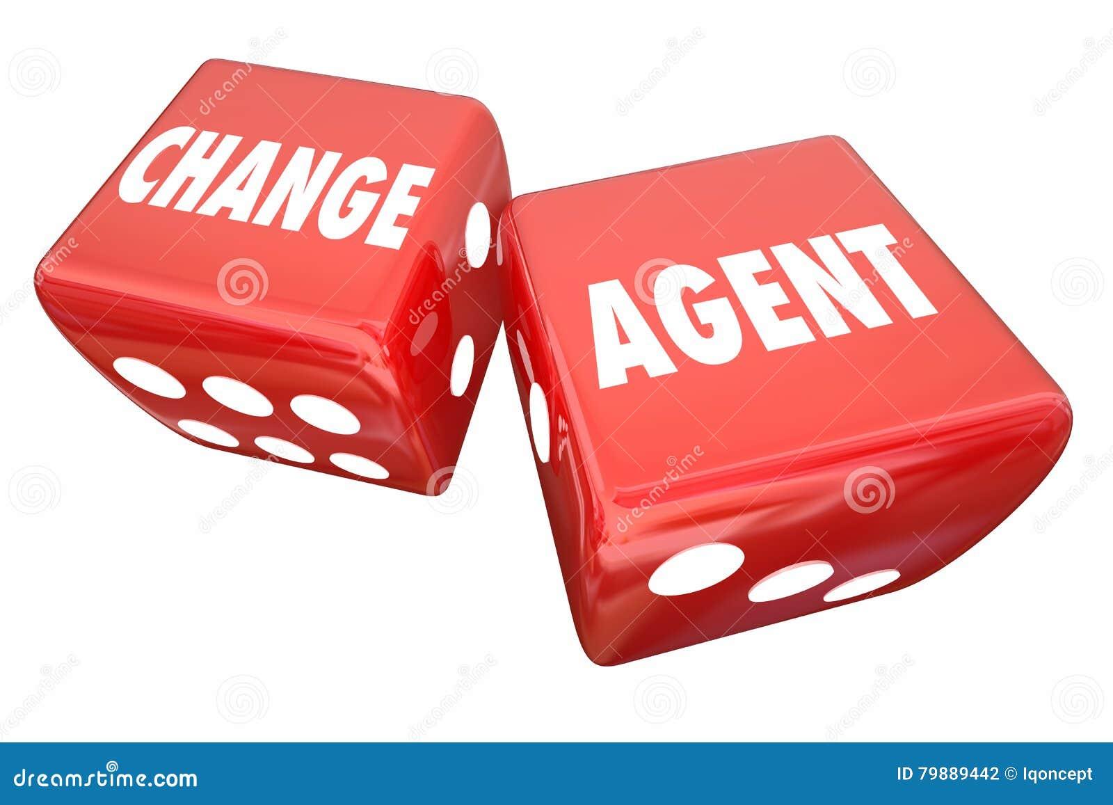 Ändern Sie Mittel, das Roll Dice Disrupt erneuern sich anpassen