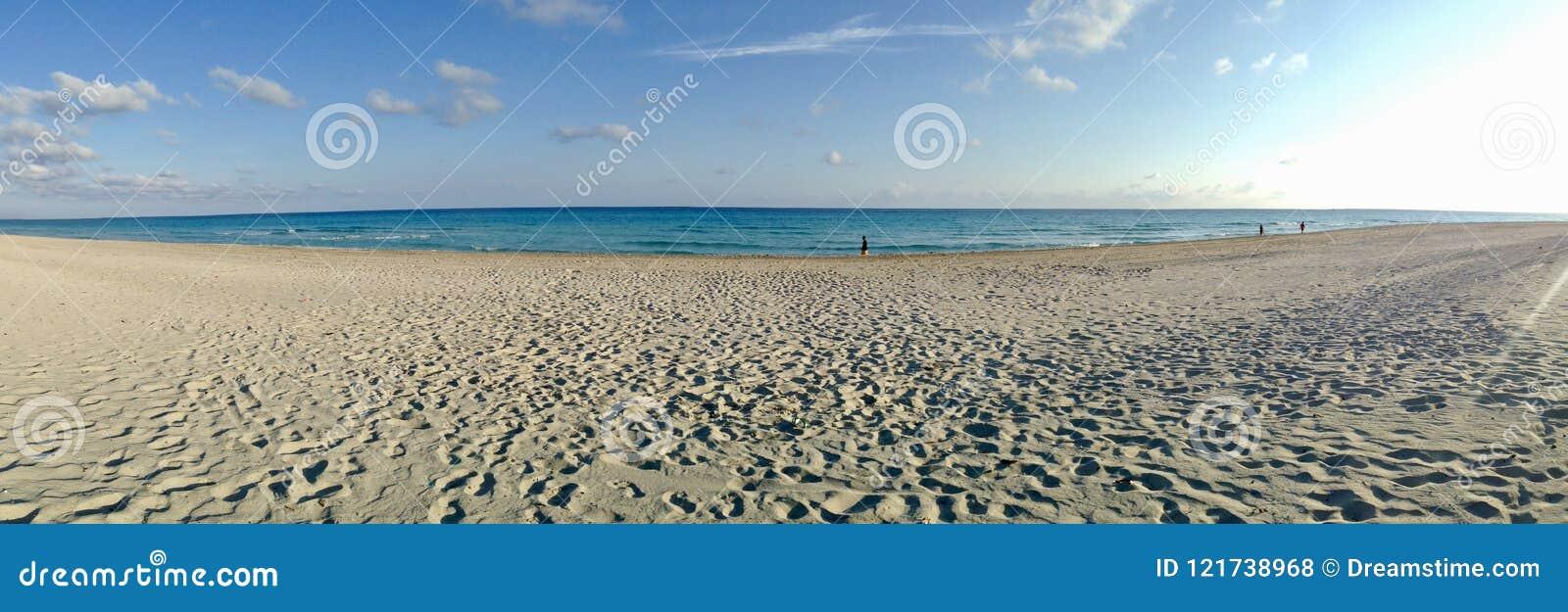 Ändlös strand för Varadero Kuba