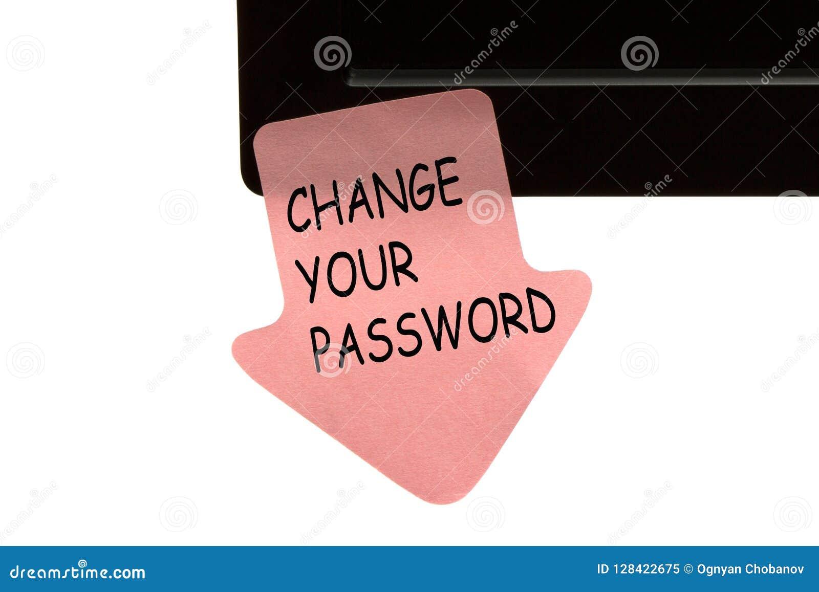 Ändra ditt lösenord