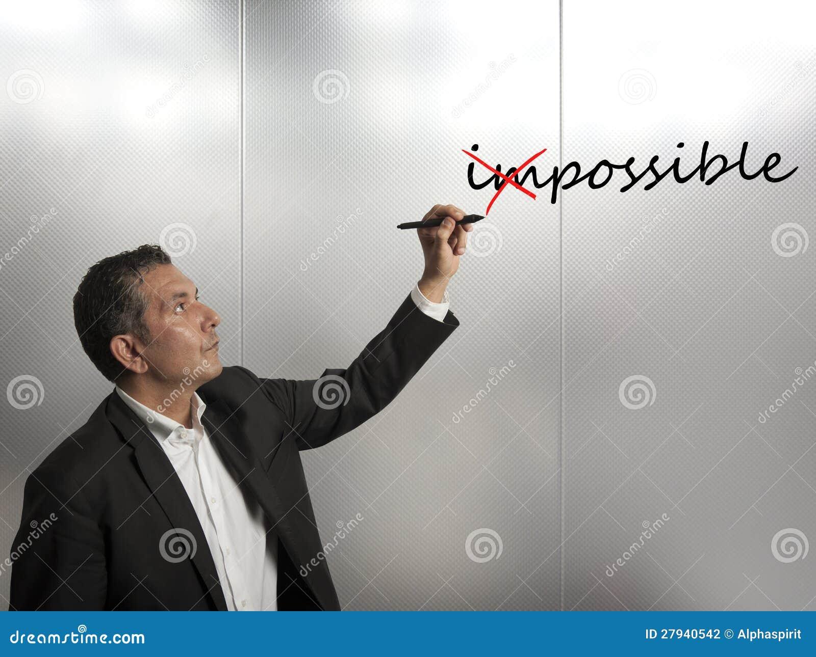 Ändra omöjligt till möjligt