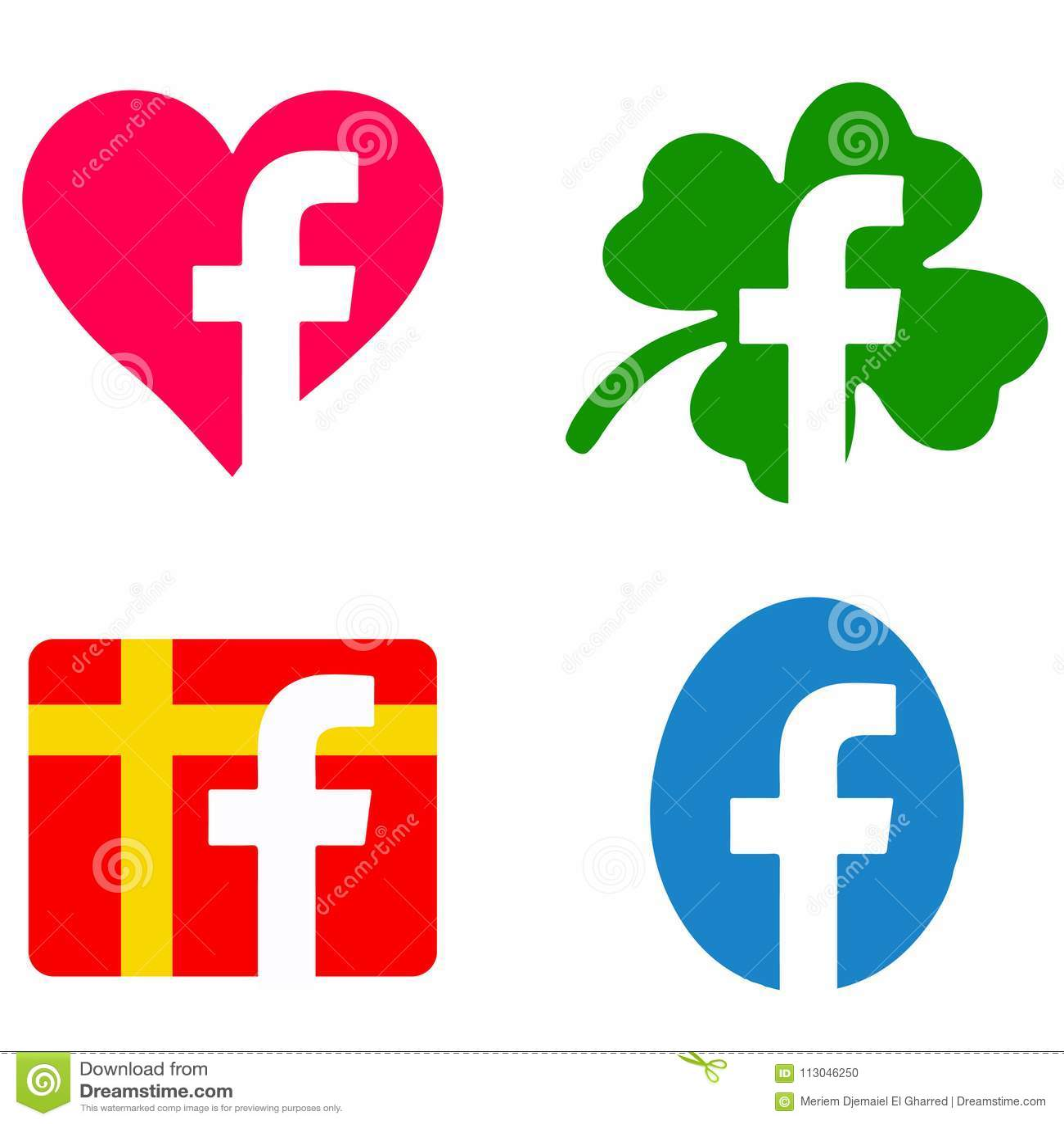 Ändrade facebooksymboler