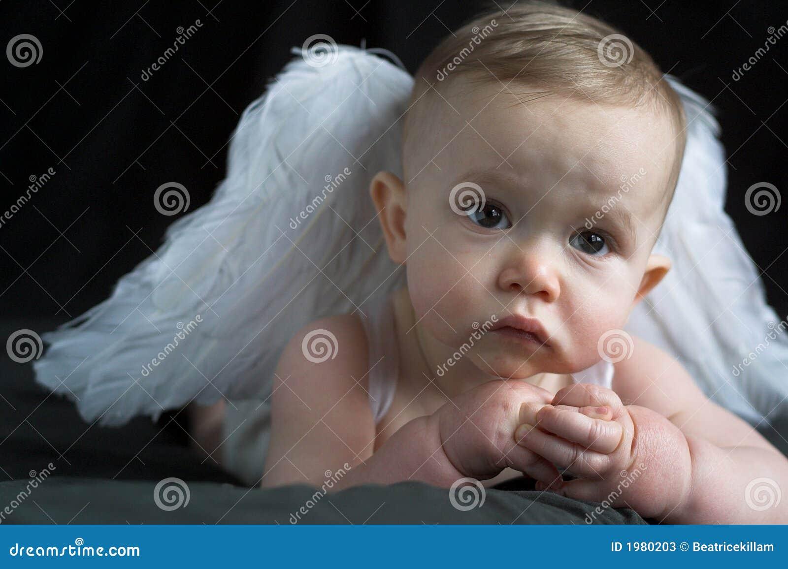 ängeln behandla som ett barn