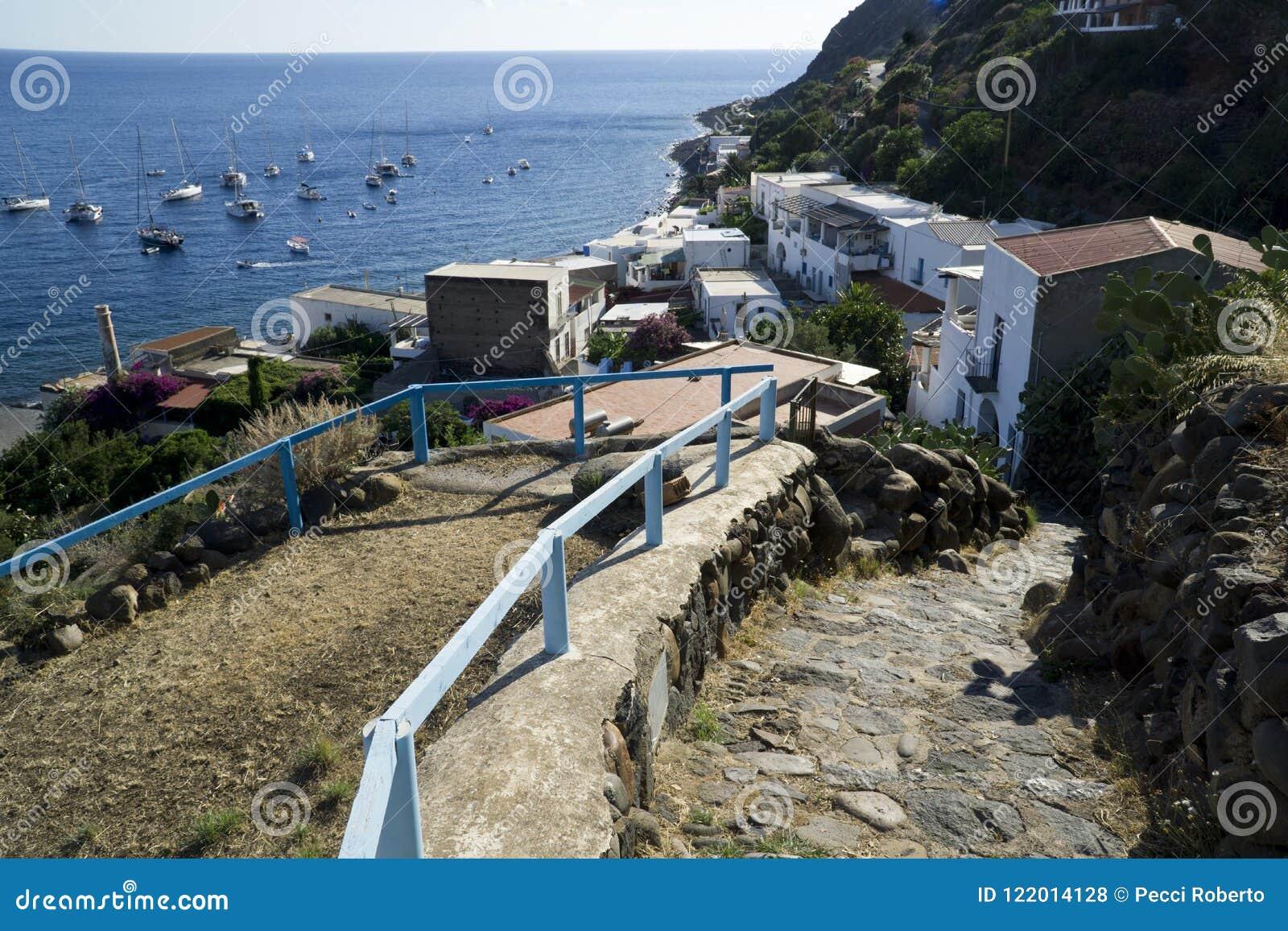 Äolische Inseln Italiens Sizilien, Alicudi-Insel