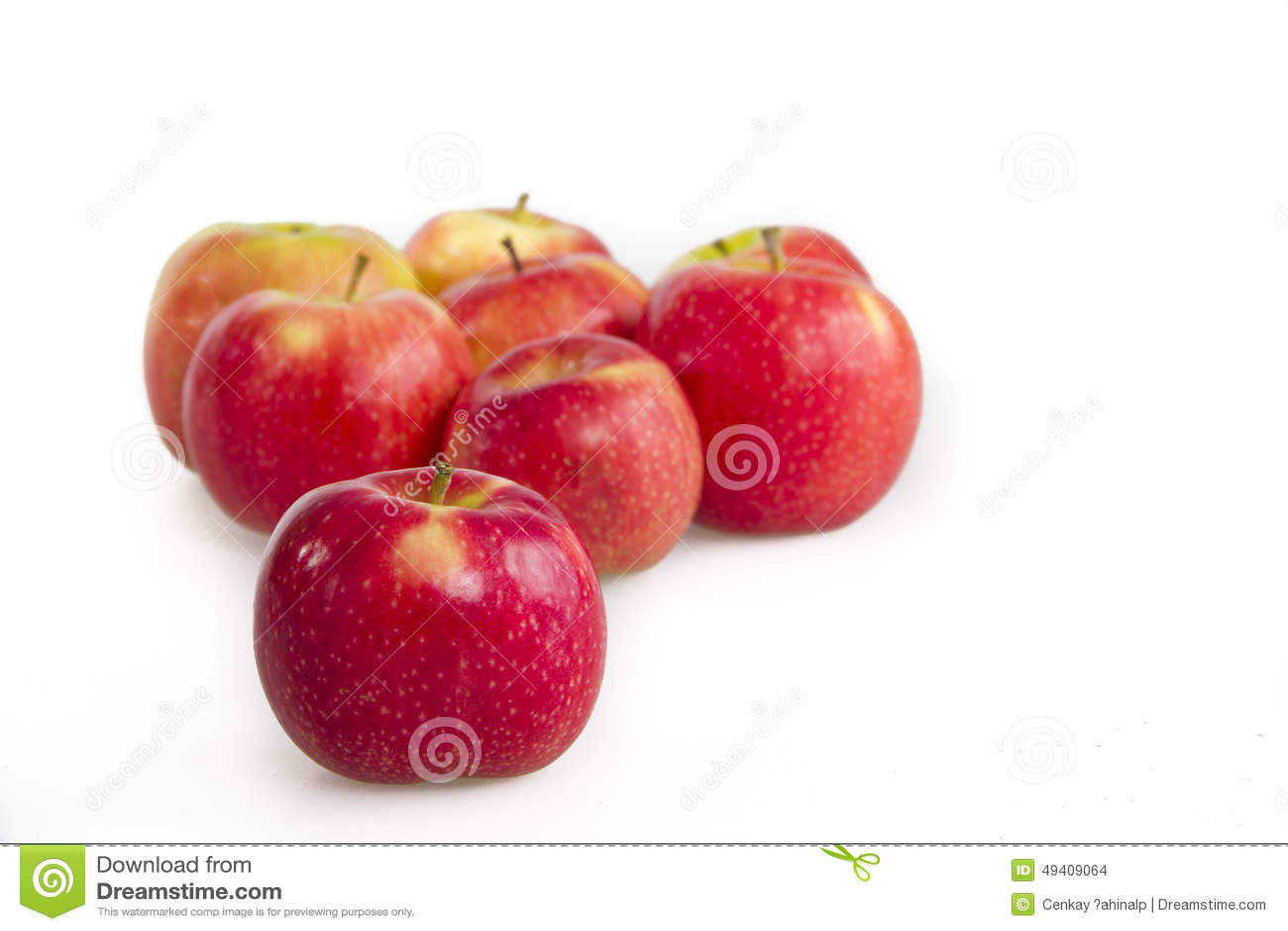 Download Äpfel, stockfoto. Bild von geschmackvoll, gruppe, nahrung - 49409064