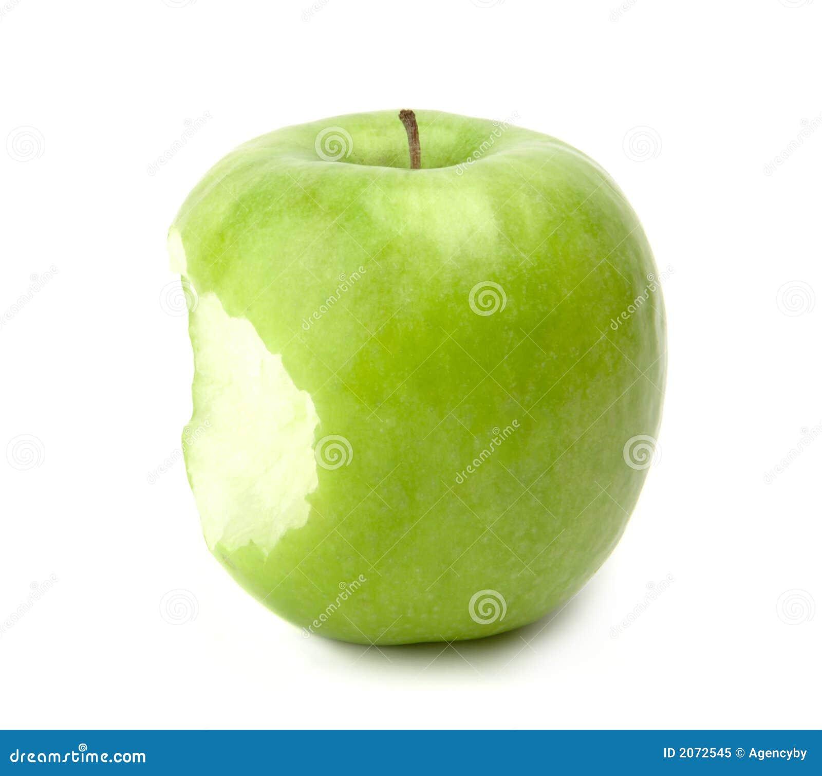 äpple biten green