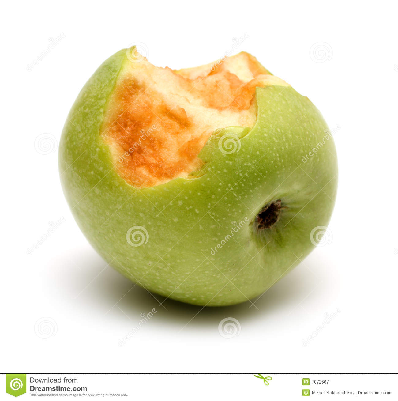 äpple biten green
