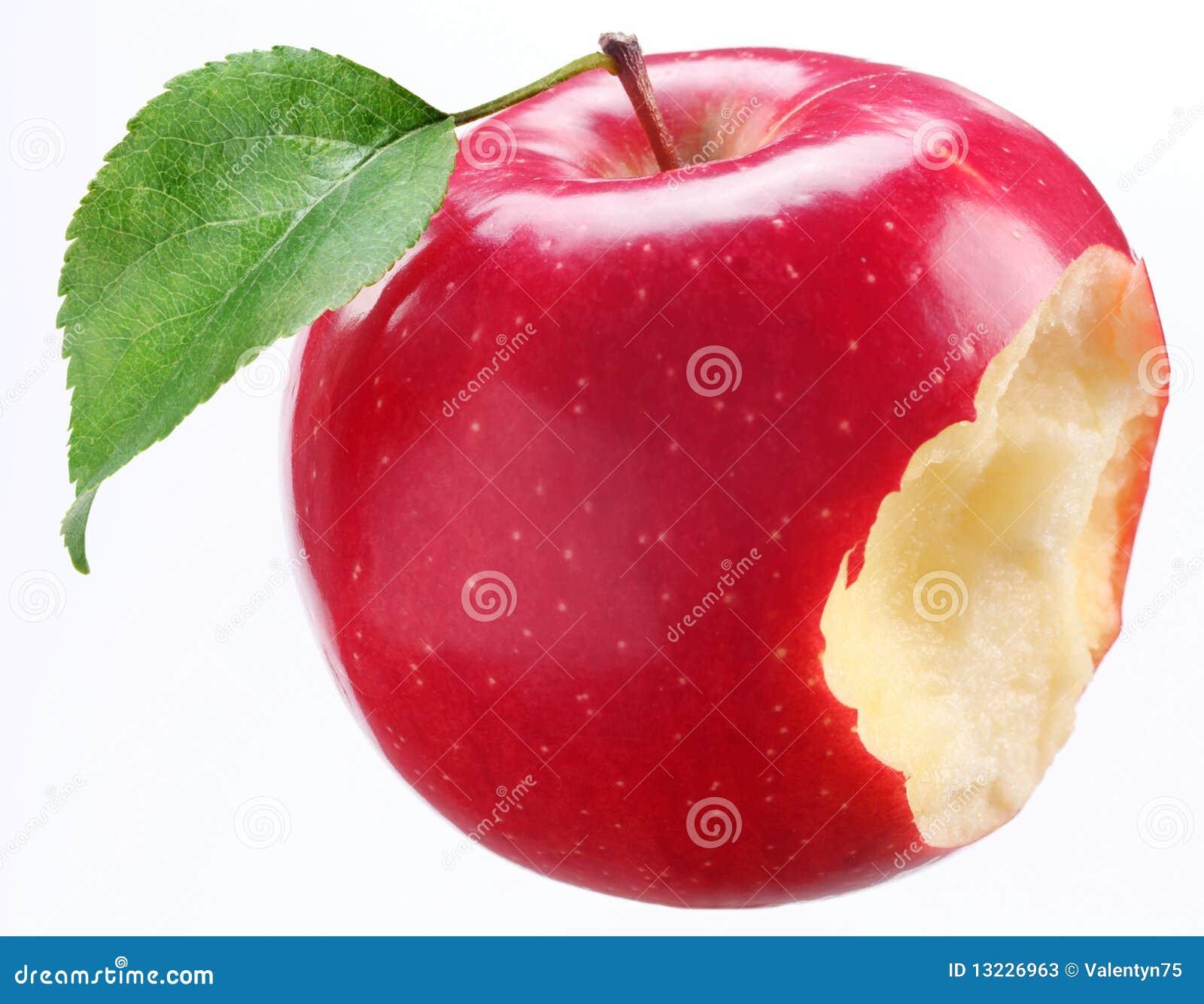 äpple biten leafred